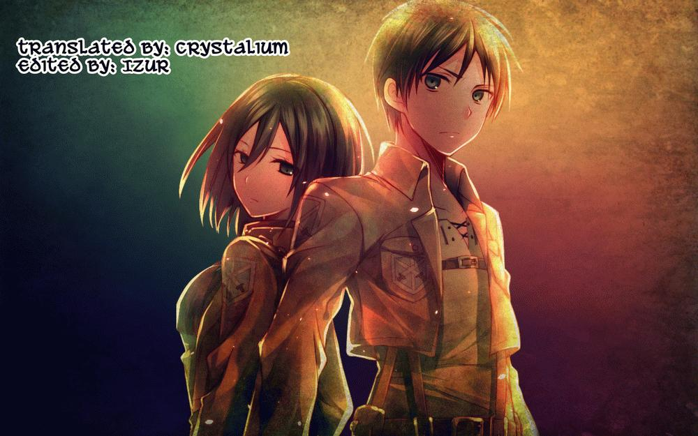 Eren ga Mikasa ni Osowareru Hon 22