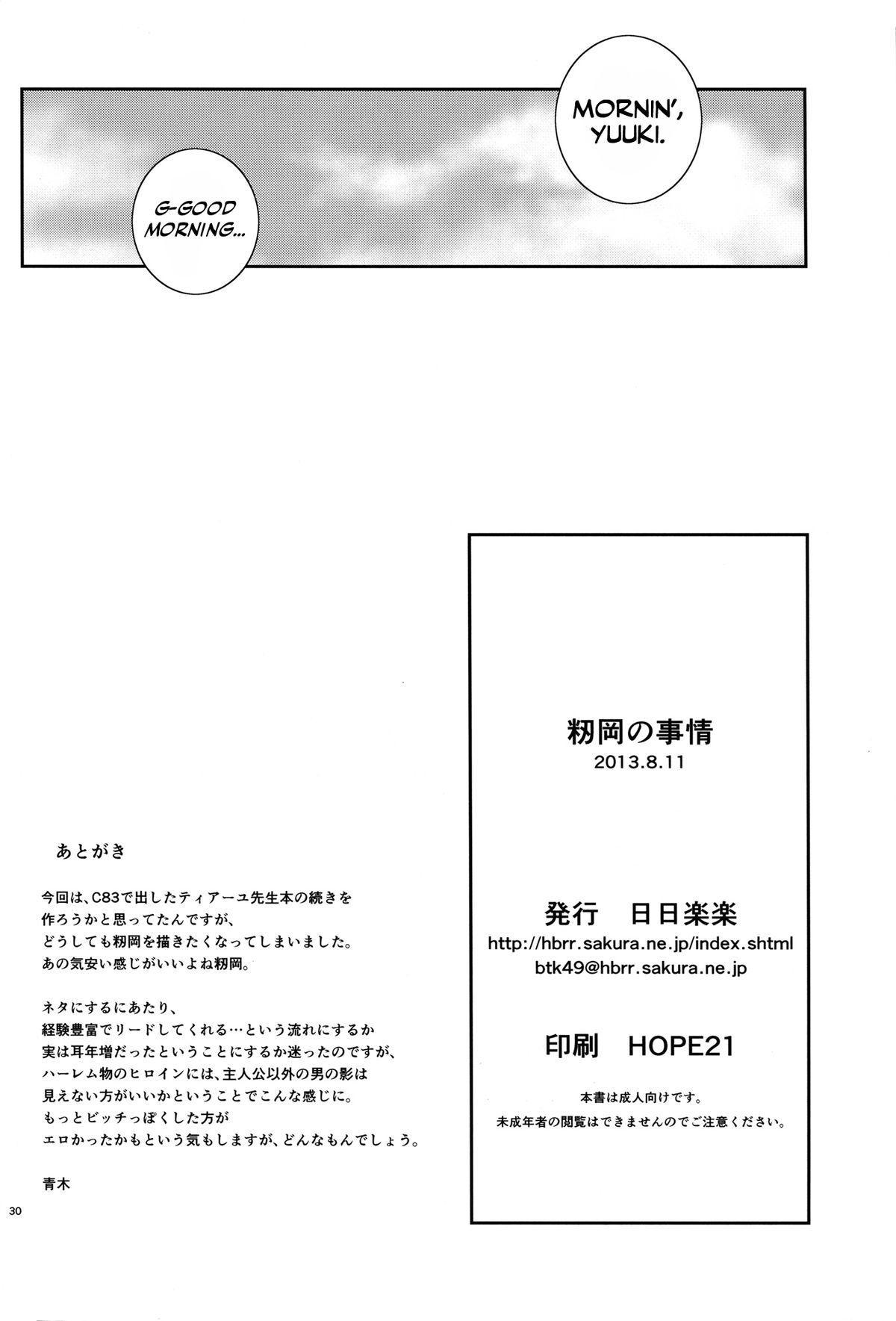 Momioka no Jijou 28