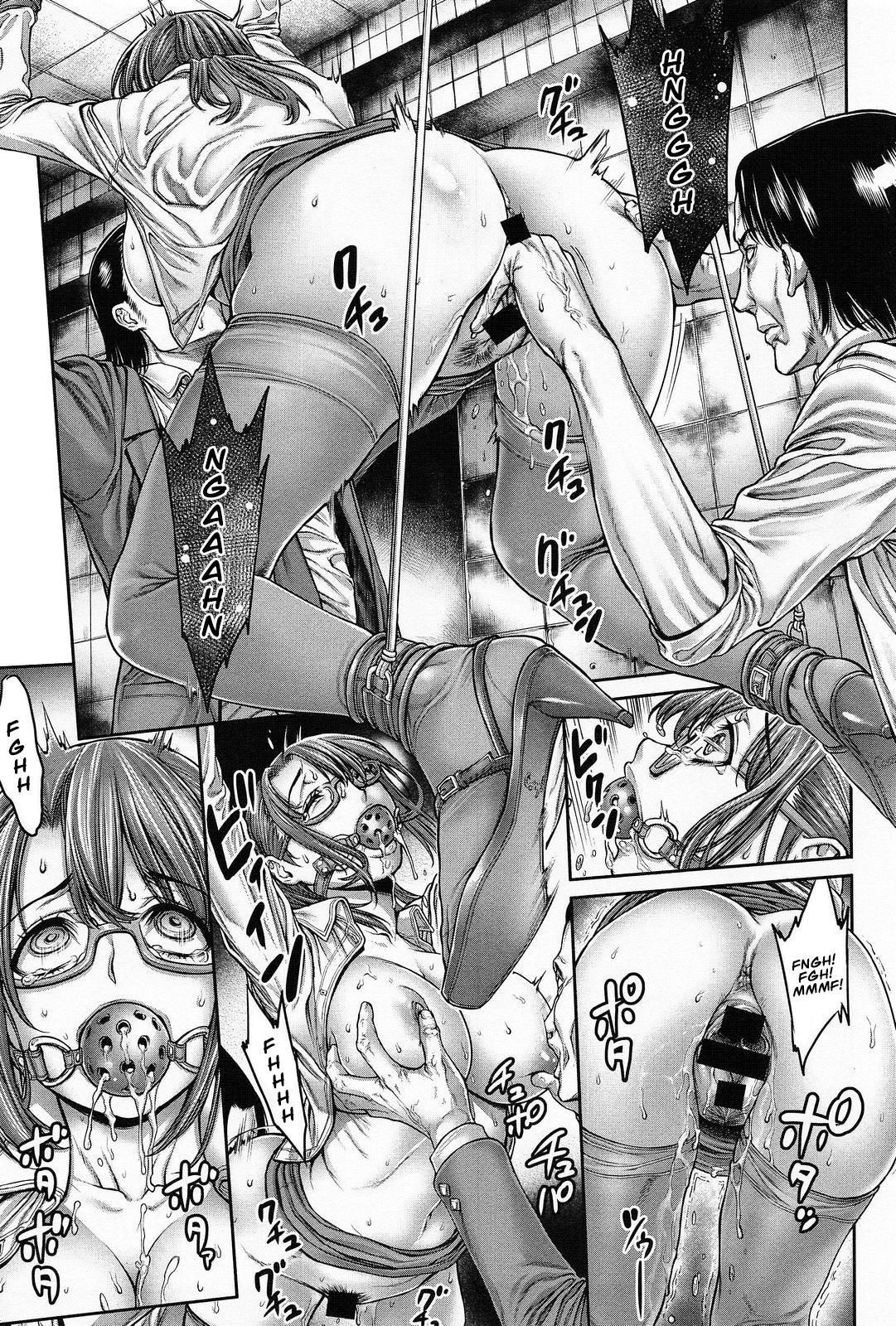 Onna Spy Goumon Zecchou!!   Female Spy ★ A Climactic Torture! 8