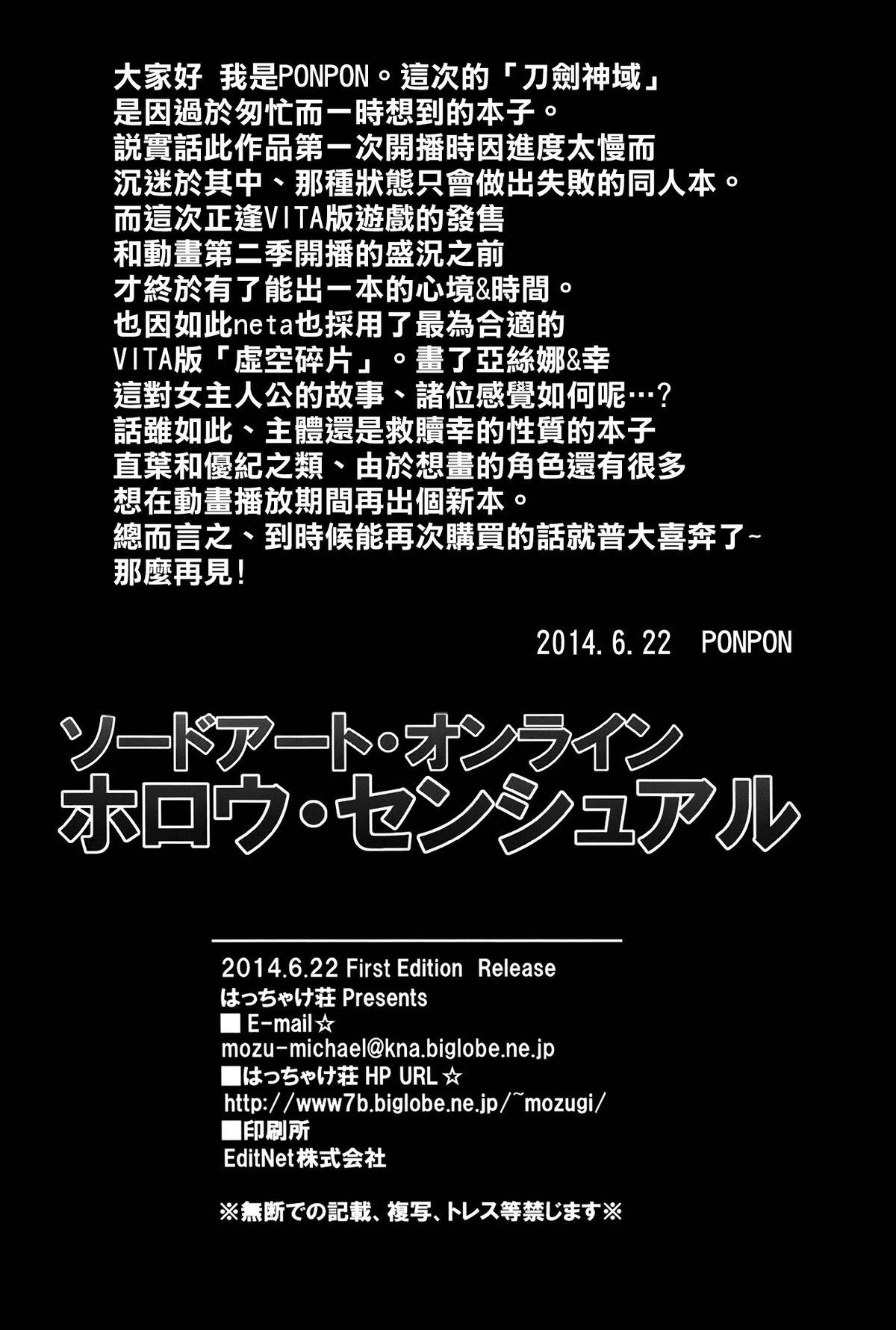Sword Art Online Hollow Sensual 21