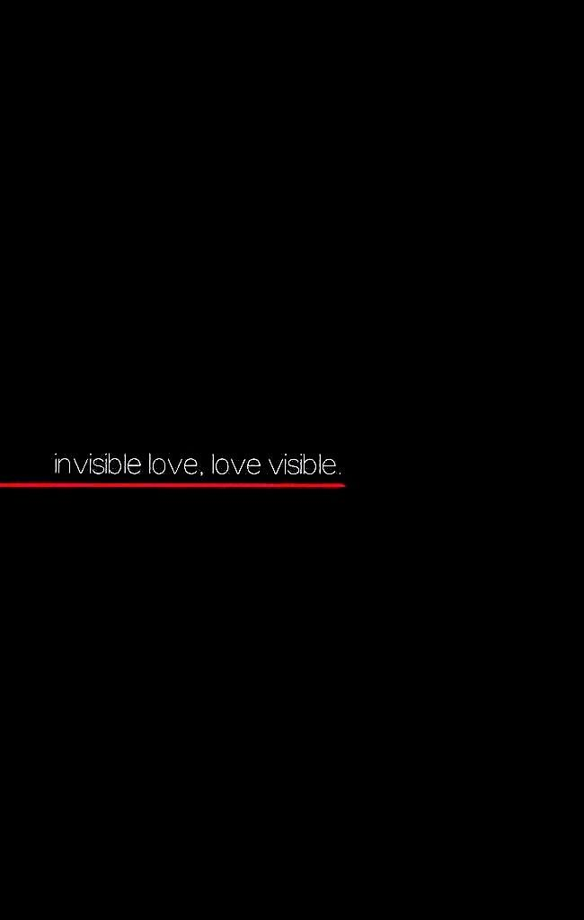 Invisible Love, Love Visible 1