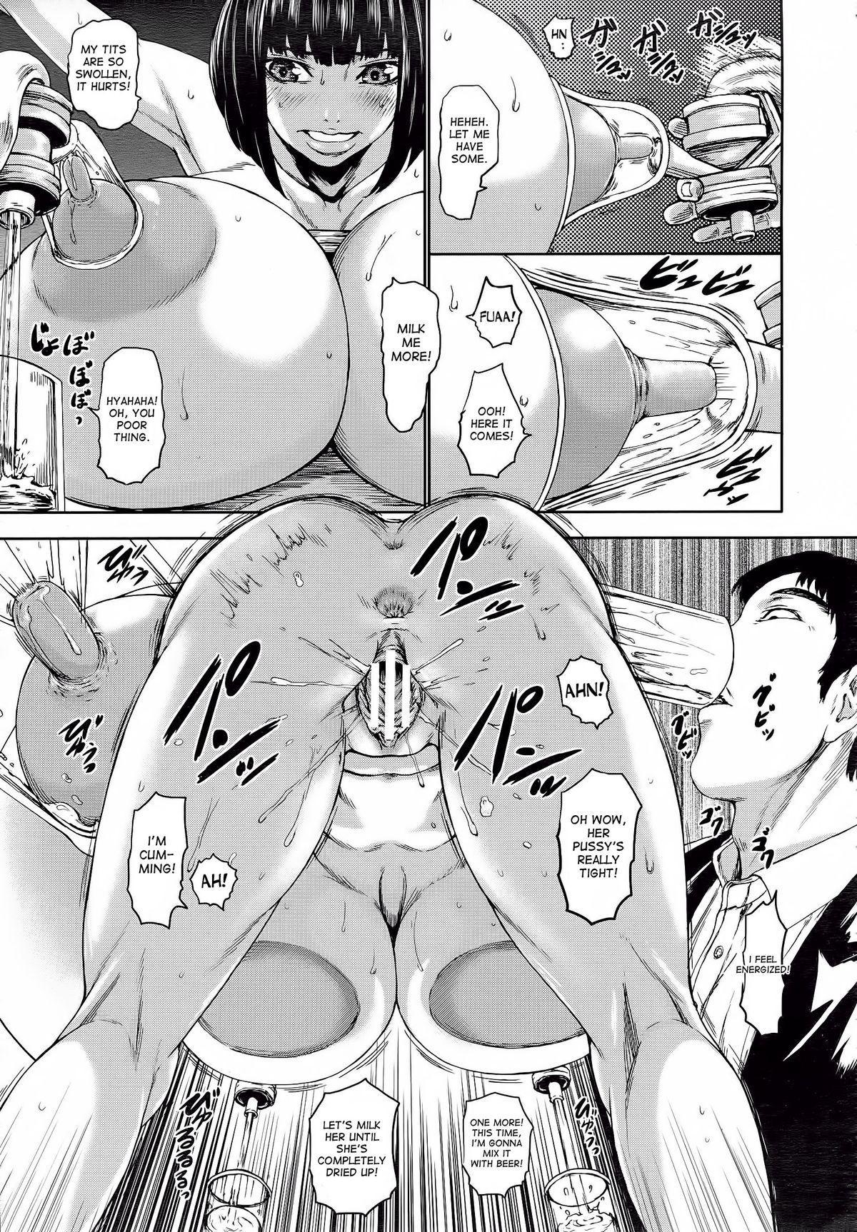 [PIero] Kuroyuki ~Inniku Sakunyuu Jigoku~ Kouhen | Black Snow ~The Depraved Cow-milking Hell~ part 2 (ANGEL Club 2015-05) [English] [desudesu] 10