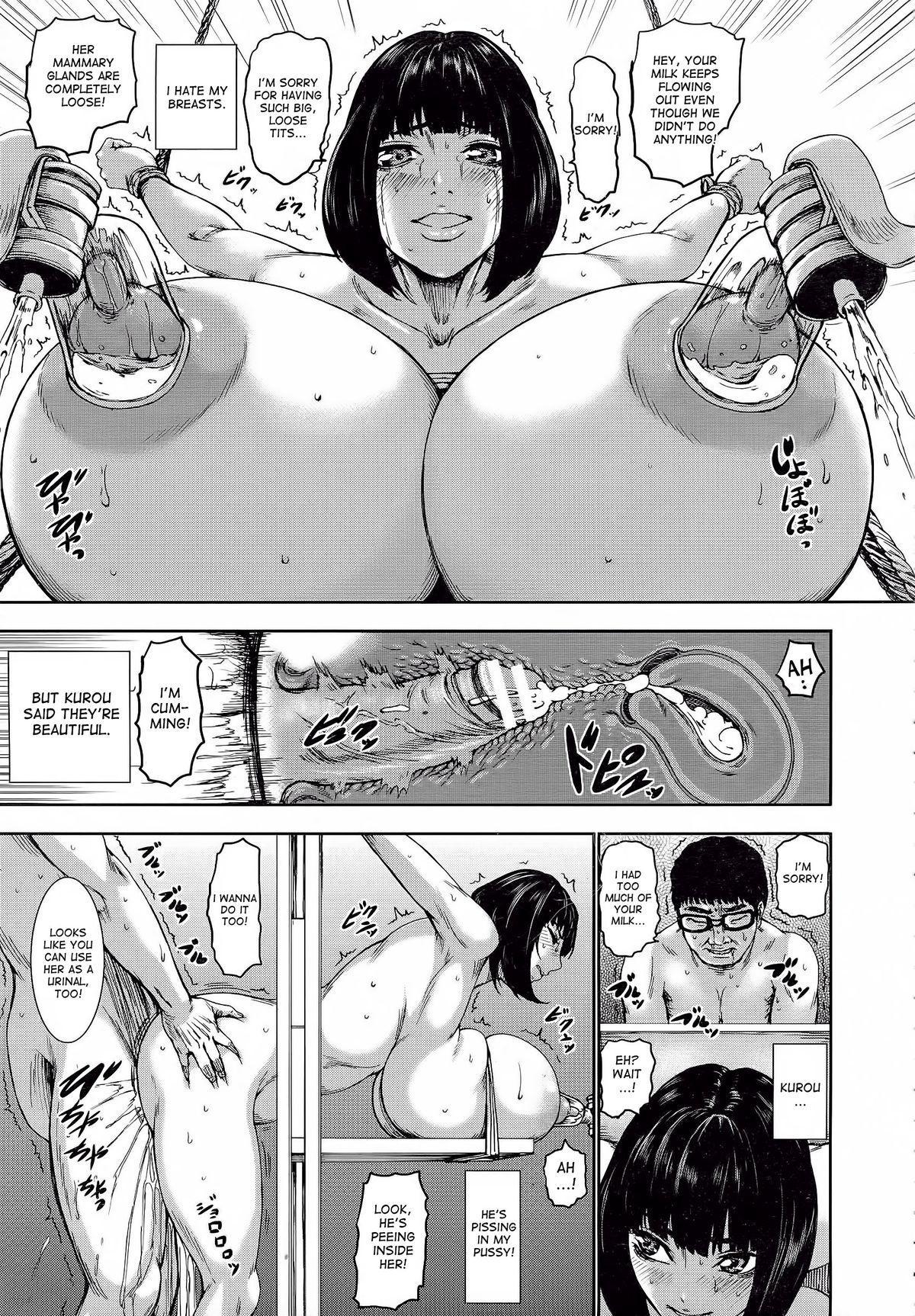 [PIero] Kuroyuki ~Inniku Sakunyuu Jigoku~ Kouhen | Black Snow ~The Depraved Cow-milking Hell~ part 2 (ANGEL Club 2015-05) [English] [desudesu] 12