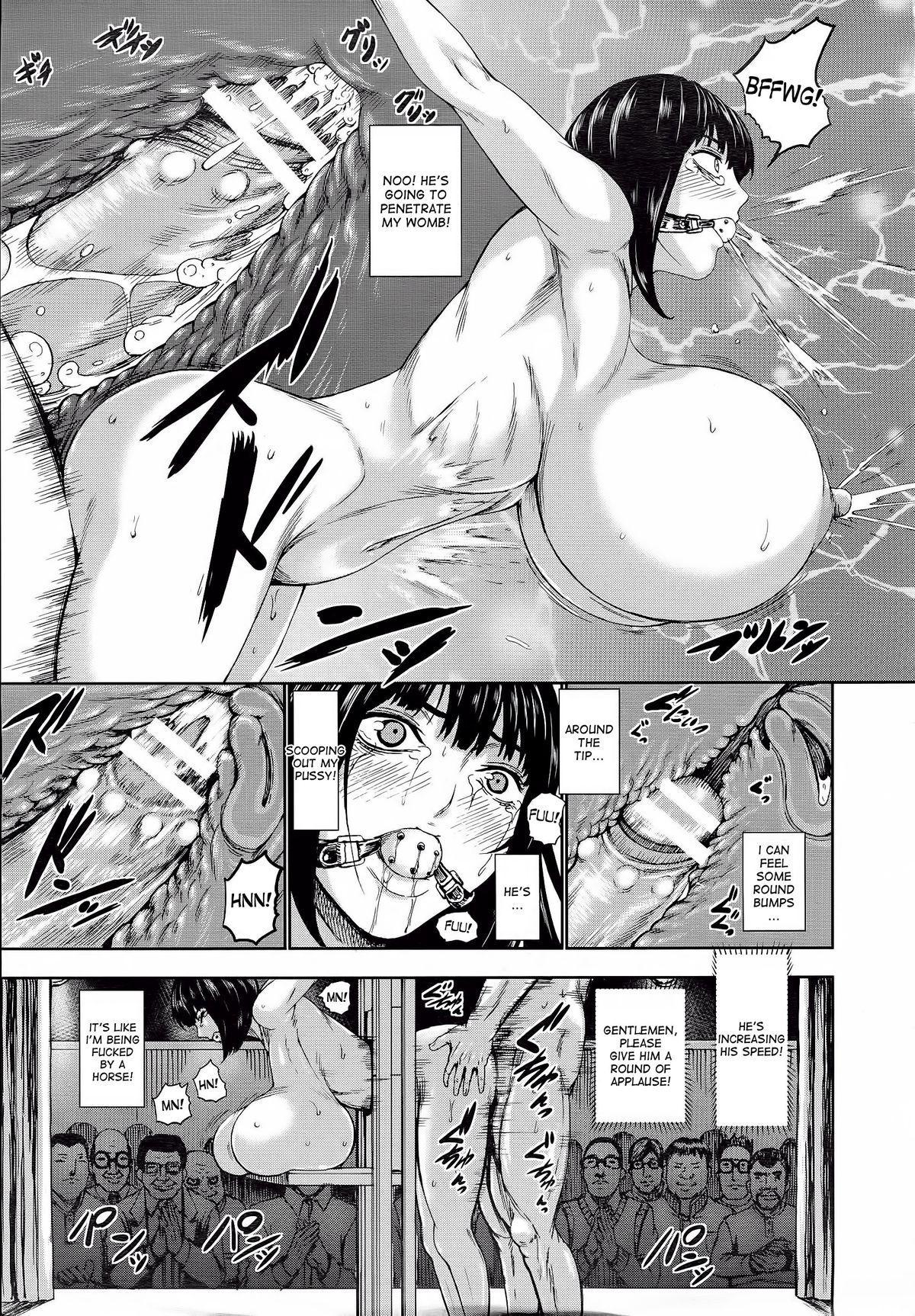 [PIero] Kuroyuki ~Inniku Sakunyuu Jigoku~ Kouhen | Black Snow ~The Depraved Cow-milking Hell~ part 2 (ANGEL Club 2015-05) [English] [desudesu] 14