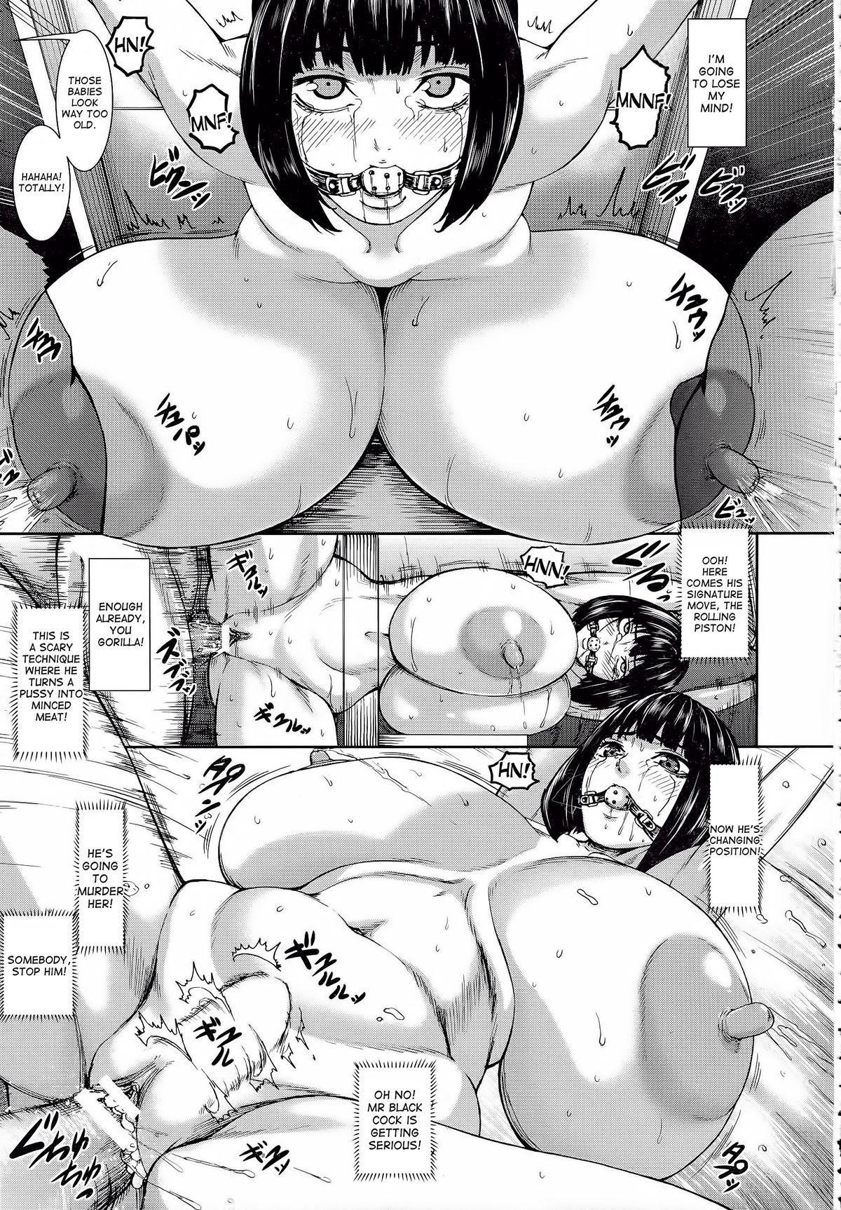 [PIero] Kuroyuki ~Inniku Sakunyuu Jigoku~ Kouhen | Black Snow ~The Depraved Cow-milking Hell~ part 2 (ANGEL Club 2015-05) [English] [desudesu] 16