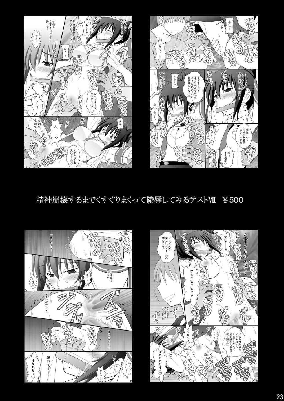 Seishinhoukai Surumade Kusugurimakutte Ryoujoku Shitemiru Test VI & VIII 51