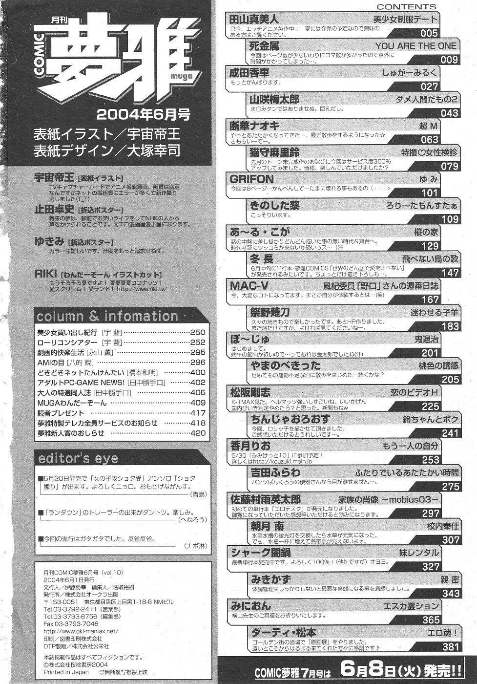 Gekkan Comic Muga 2004-06 Vol.10 431