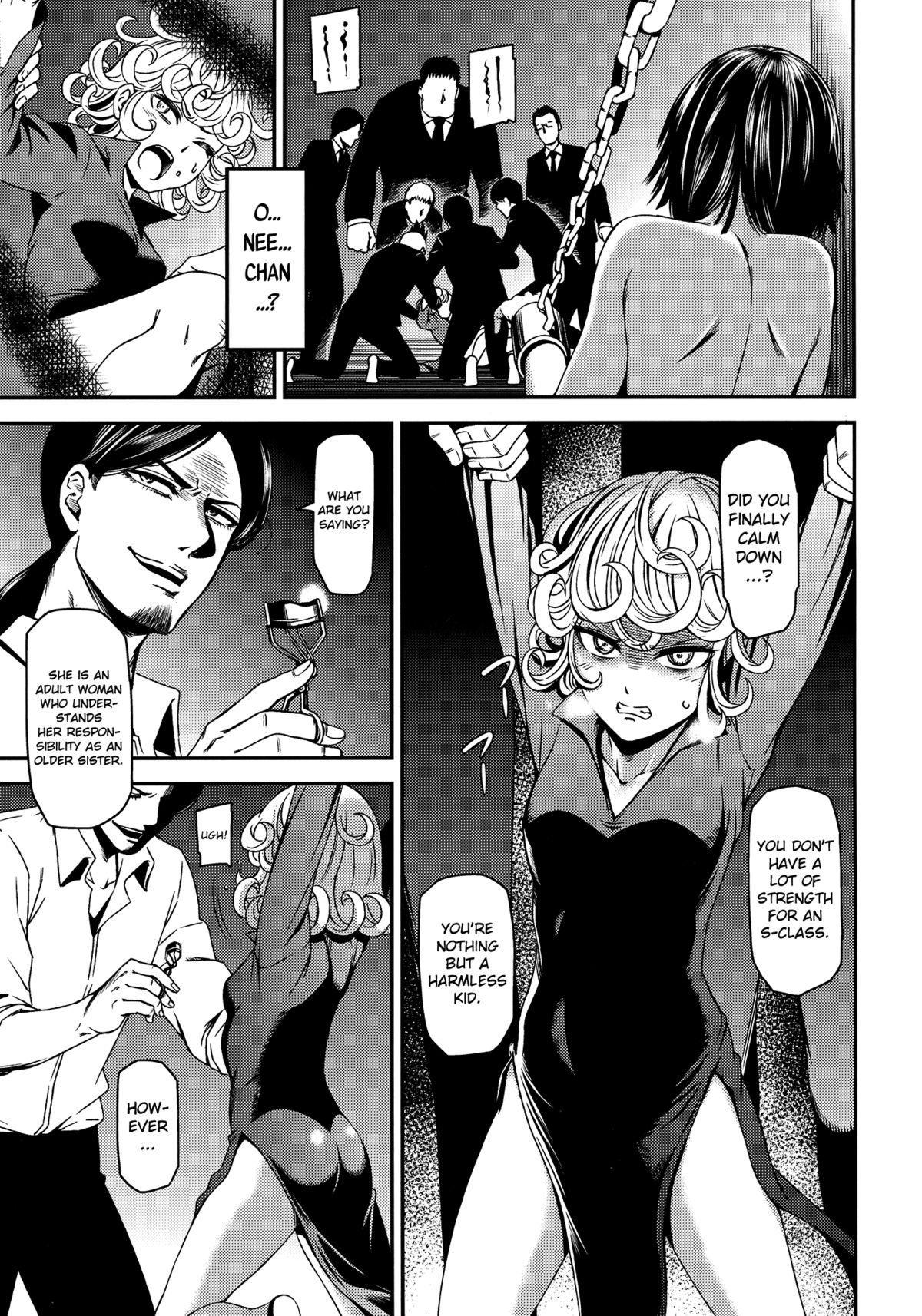 (C89) [Kiyosumi Hurricane (Kiyosumi Hurricane)] ONE-HURRICANE - Kutsujoku no Tatsumaki (One Punch Man) [English] [MintVoid] 3