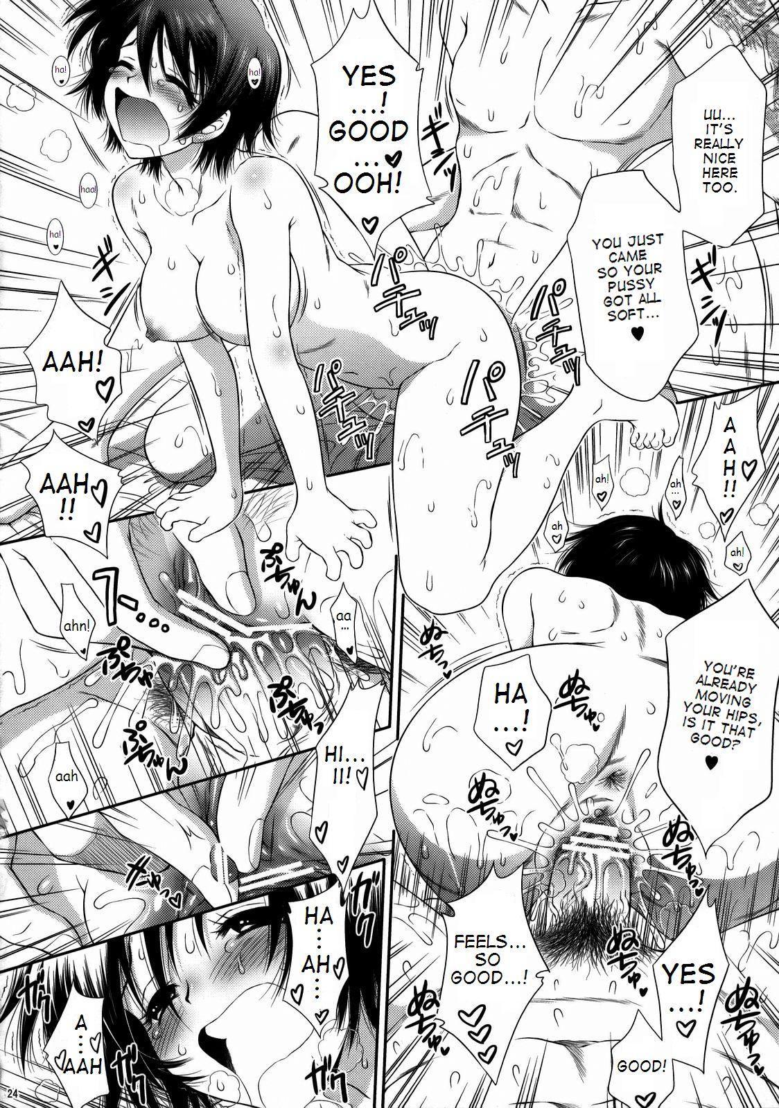 Himitsu no Rikuson-chan 22