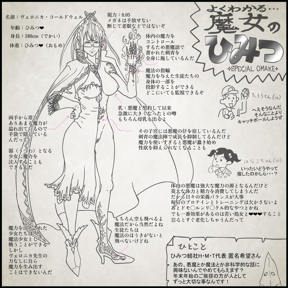 Genwaku no Majo Veronica - Henrietta Hajimete no Ofuro no Maki 22