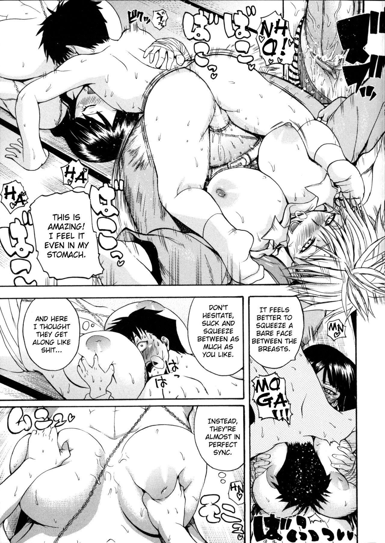 [Yoshimura Tatsumaki] Monzetsu Taigatame ~Count 3 de Ikasete Ageru~ | Faint in Agony Bodylock ~I'll make you cum on the count of 3~ [English] [Brolen] 99