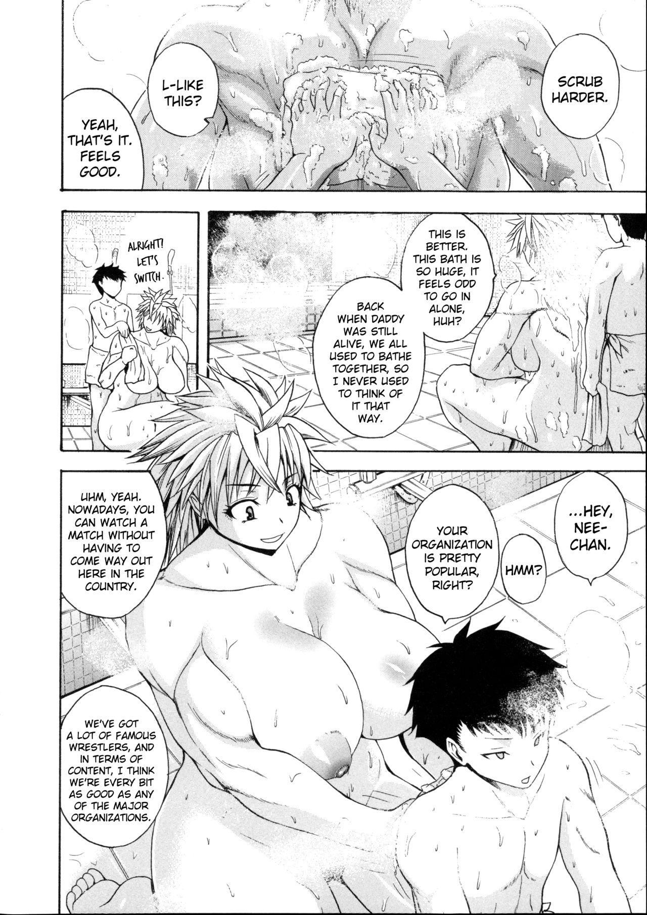 [Yoshimura Tatsumaki] Monzetsu Taigatame ~Count 3 de Ikasete Ageru~ | Faint in Agony Bodylock ~I'll make you cum on the count of 3~ [English] [Brolen] 136