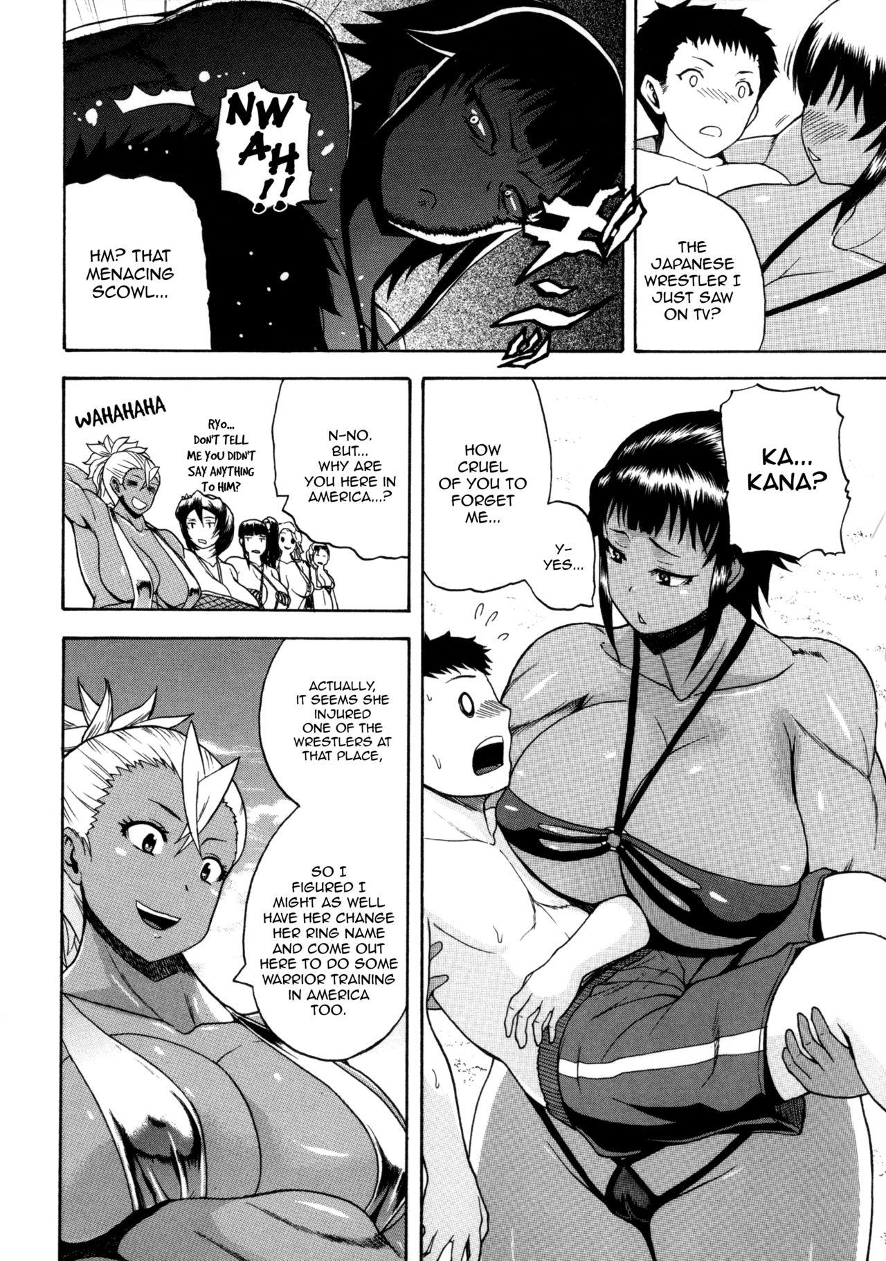 [Yoshimura Tatsumaki] Monzetsu Taigatame ~Count 3 de Ikasete Ageru~ | Faint in Agony Bodylock ~I'll make you cum on the count of 3~ [English] [Brolen] 194