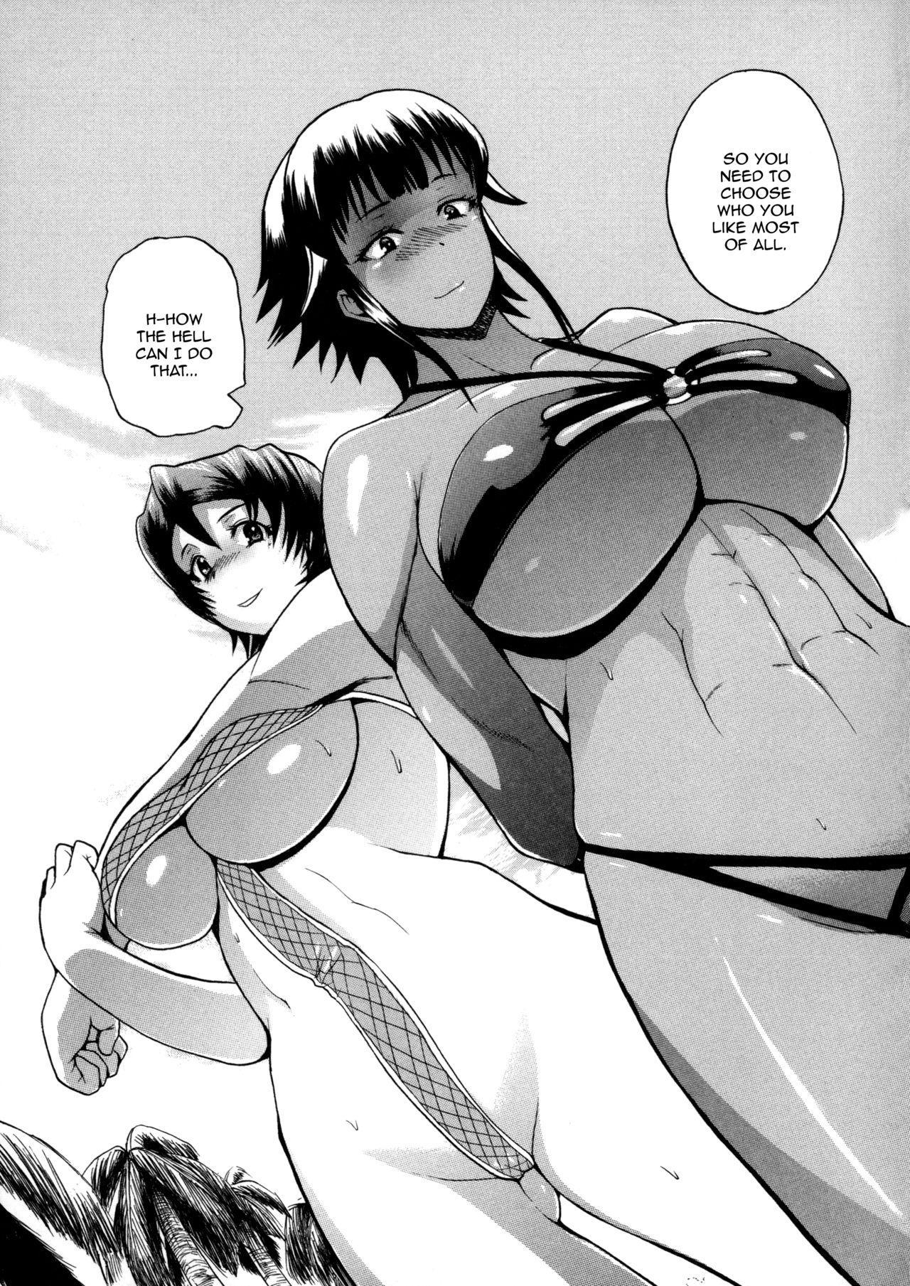 [Yoshimura Tatsumaki] Monzetsu Taigatame ~Count 3 de Ikasete Ageru~ | Faint in Agony Bodylock ~I'll make you cum on the count of 3~ [English] [Brolen] 198
