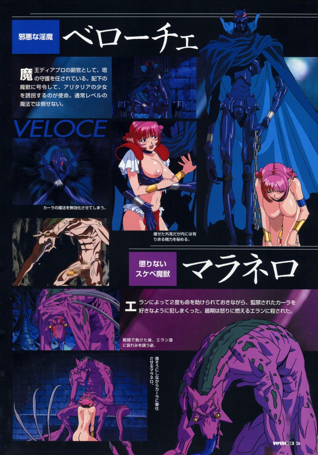Viper Official Art Book 28