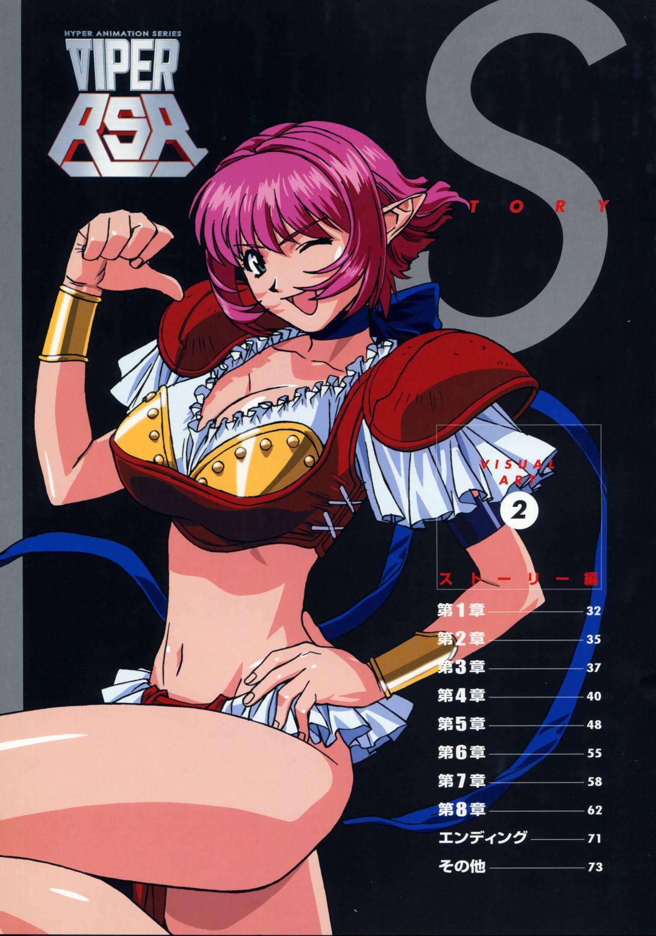 Viper Official Art Book 33