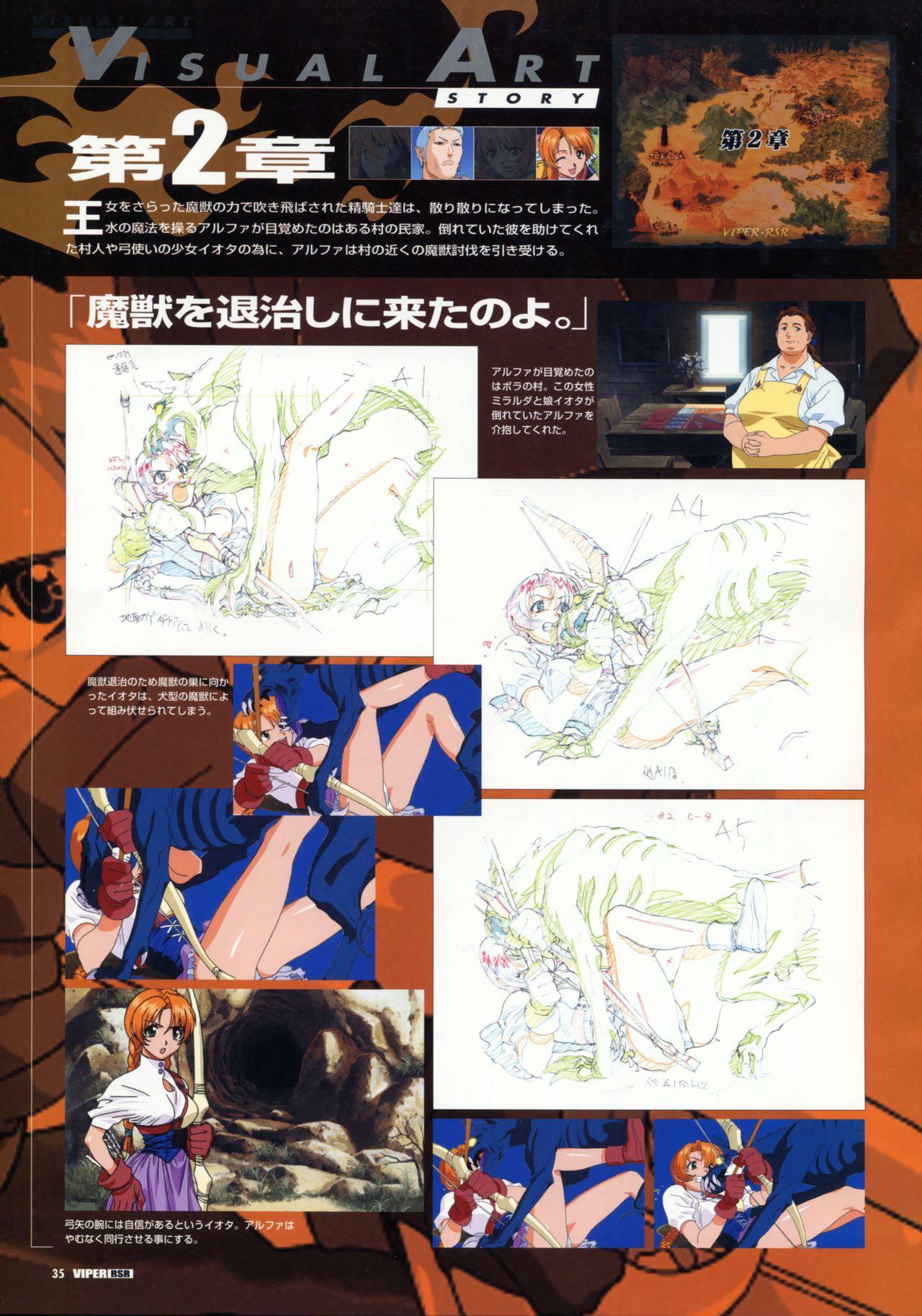 Viper Official Art Book 37
