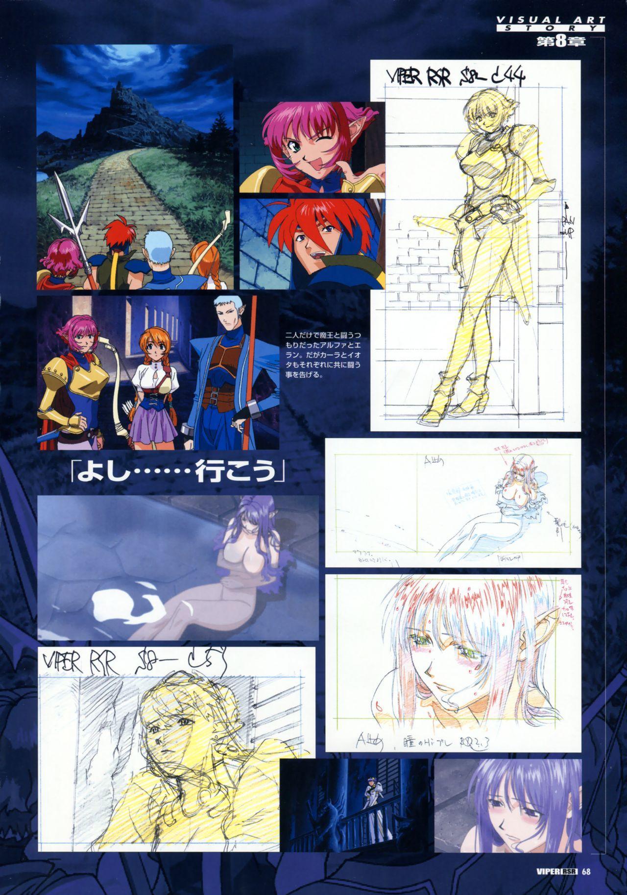 Viper Official Art Book 70