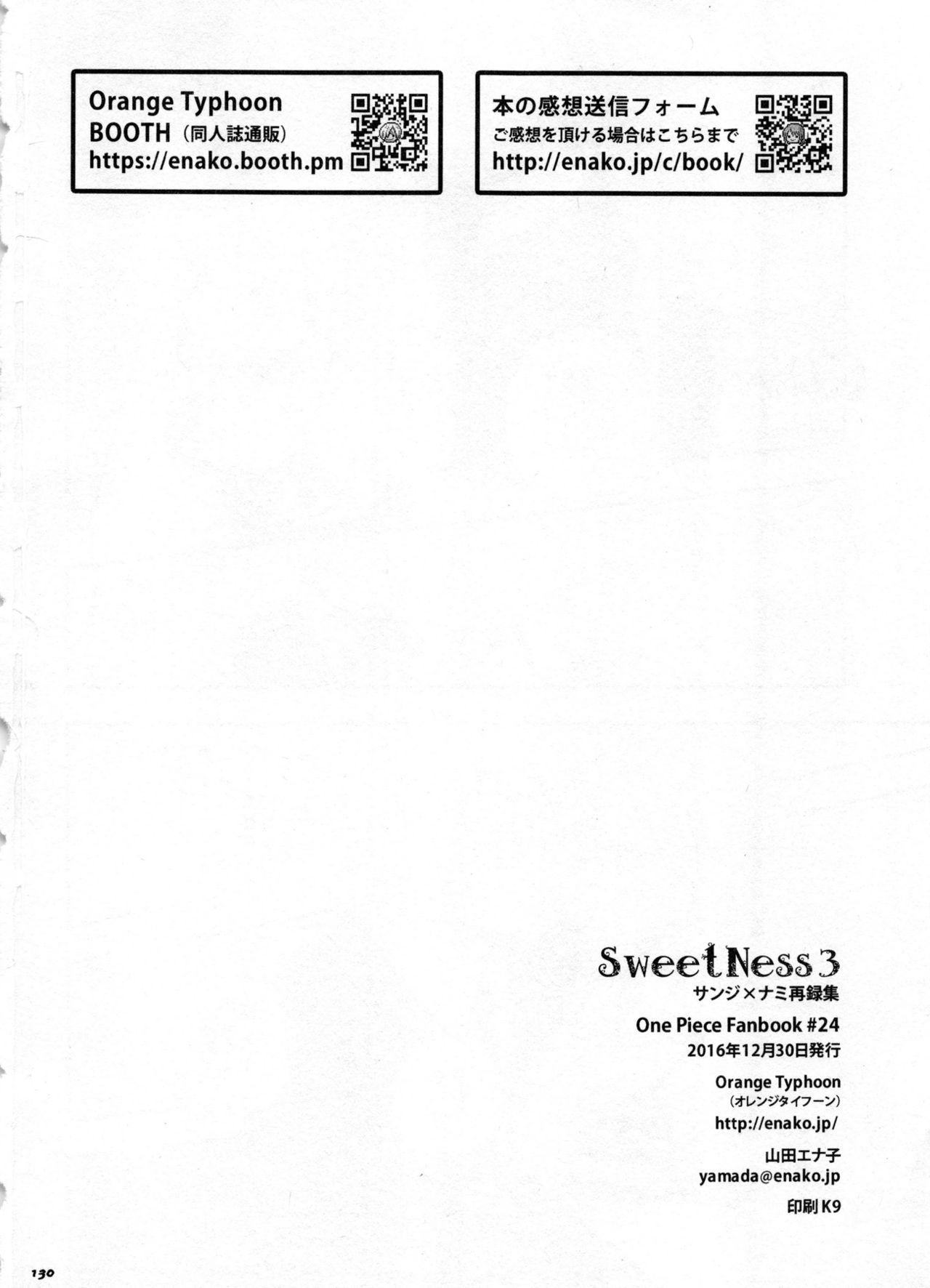 SweetNess 3 Sanji x Nami Sairokushuu 132