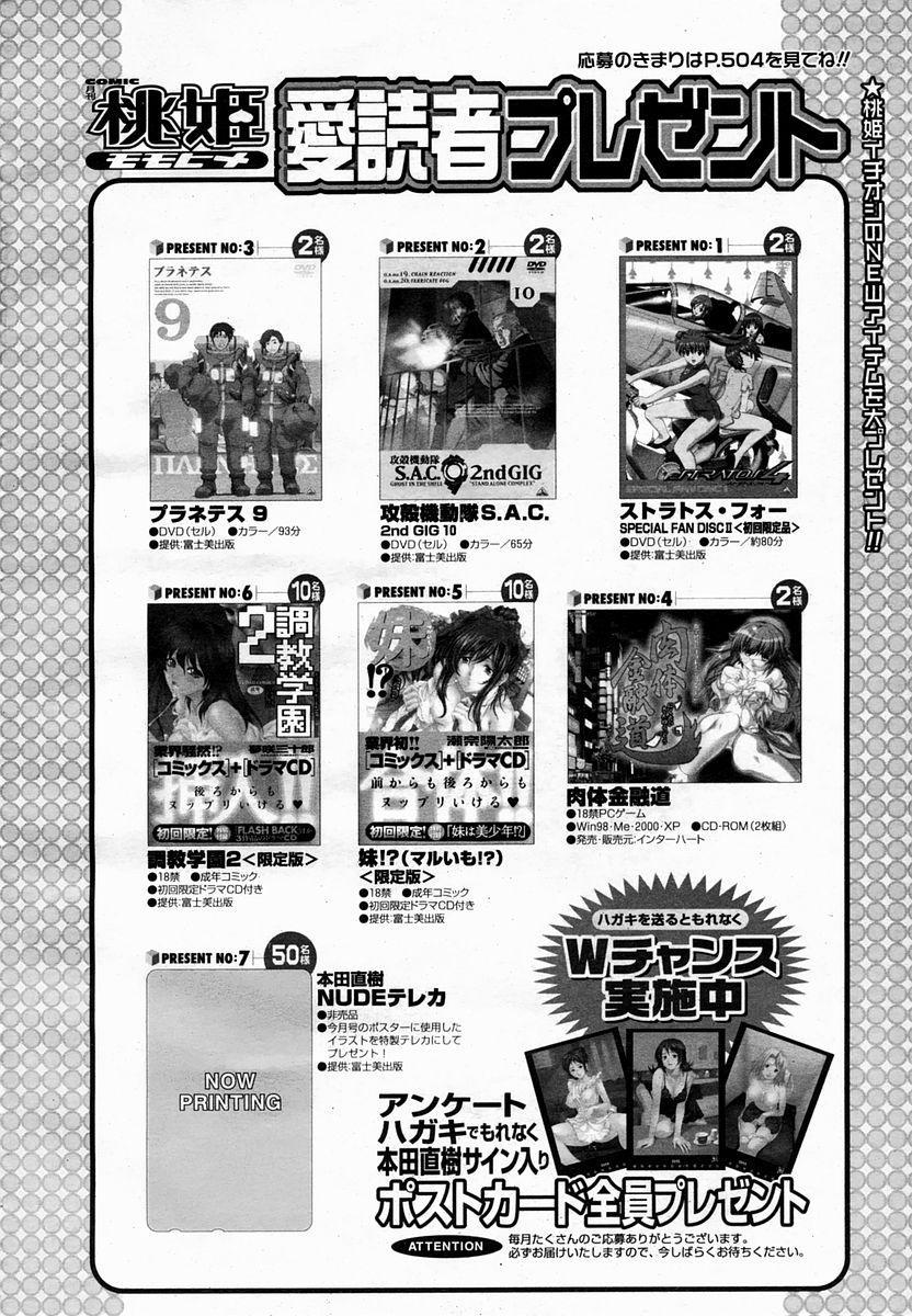 COMIC Momohime 2005-02 496
