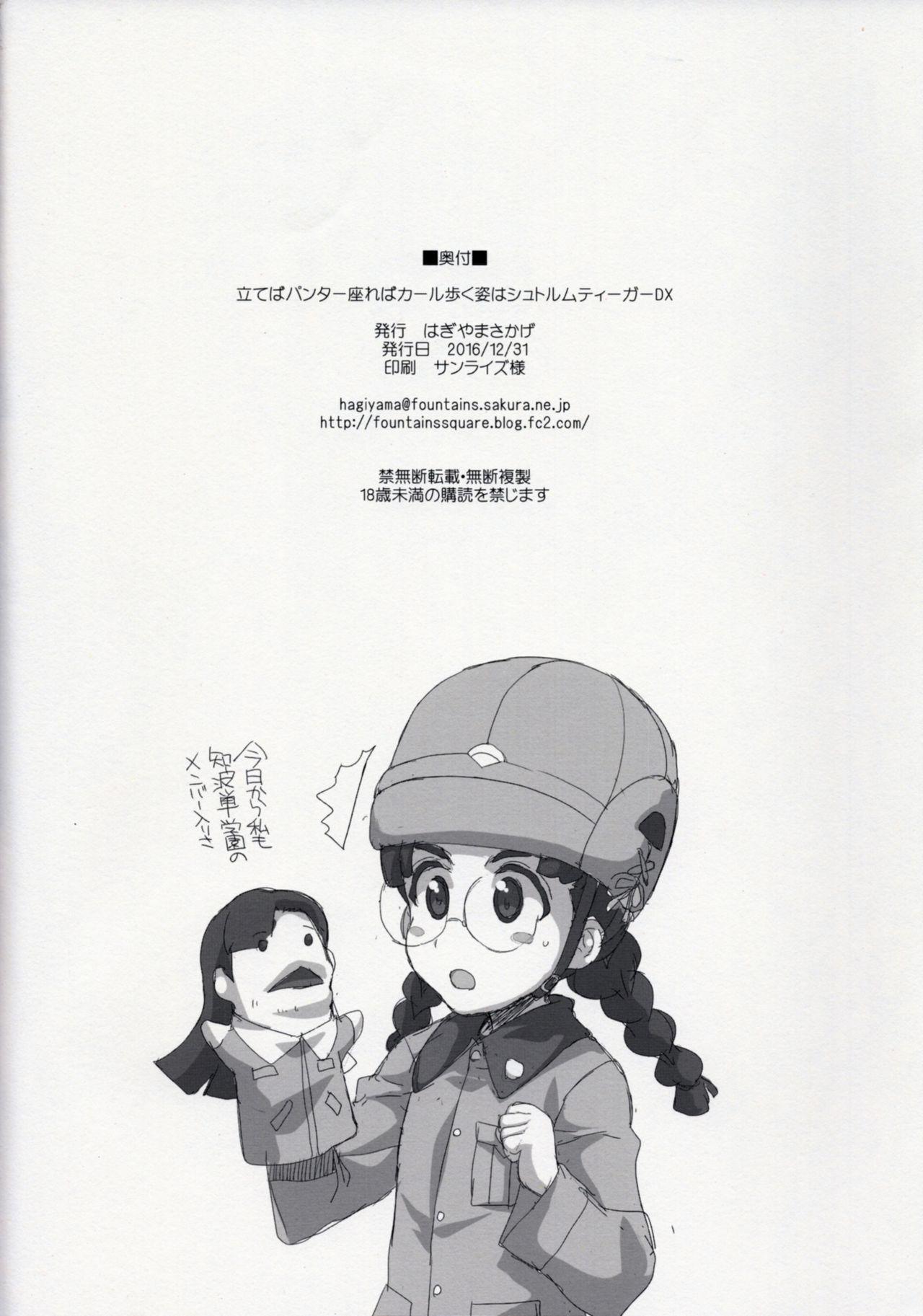 Tateba Panther Suwareba Karl Aruku Sugata wa Sturmtiger DX 11