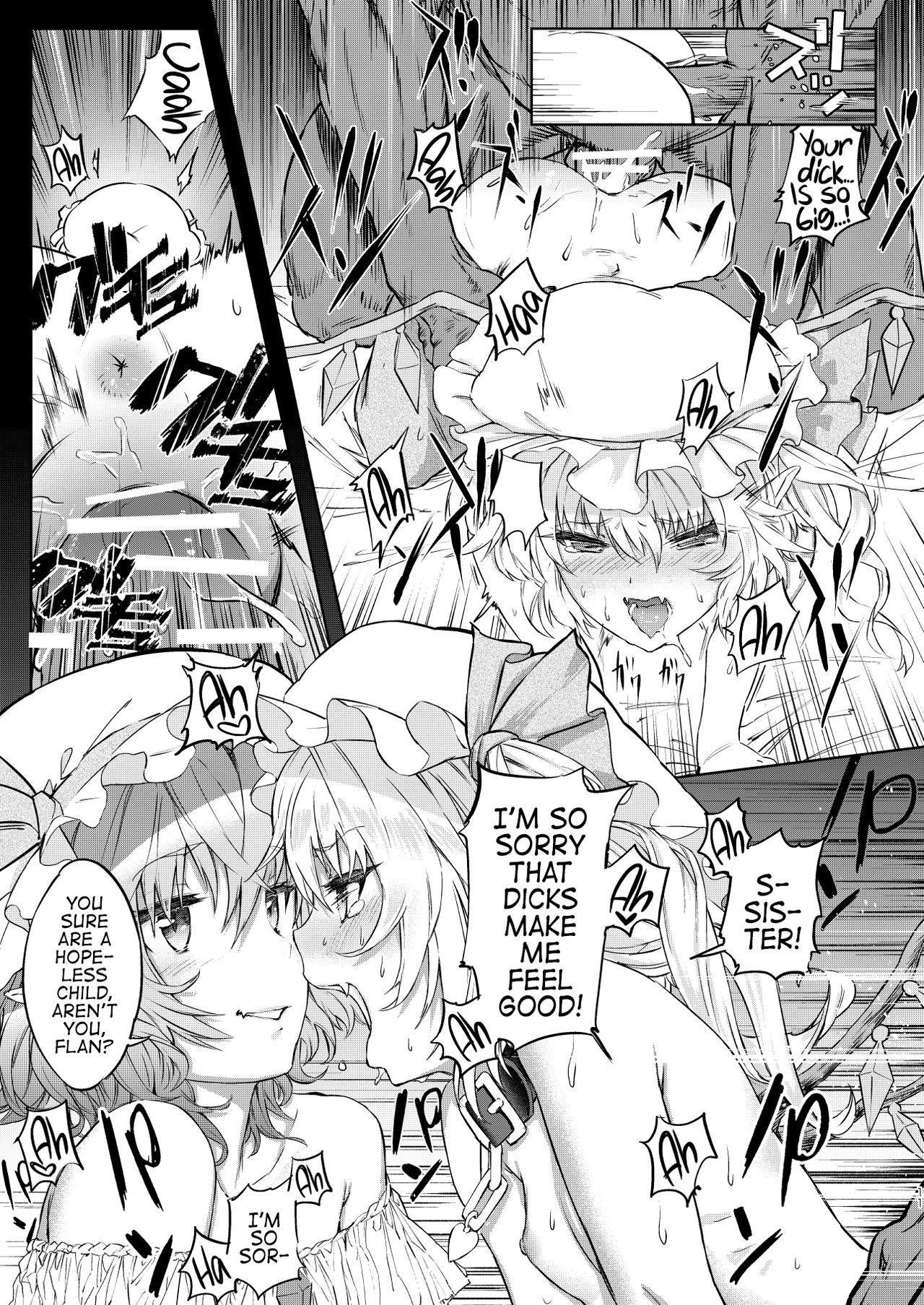 Watashi wa Shitsuke no Tame ni Flan o Otoko-domo ni Naburaseru | I'm letting a group of men torment my little sister Flan in order to teach her manners. 9