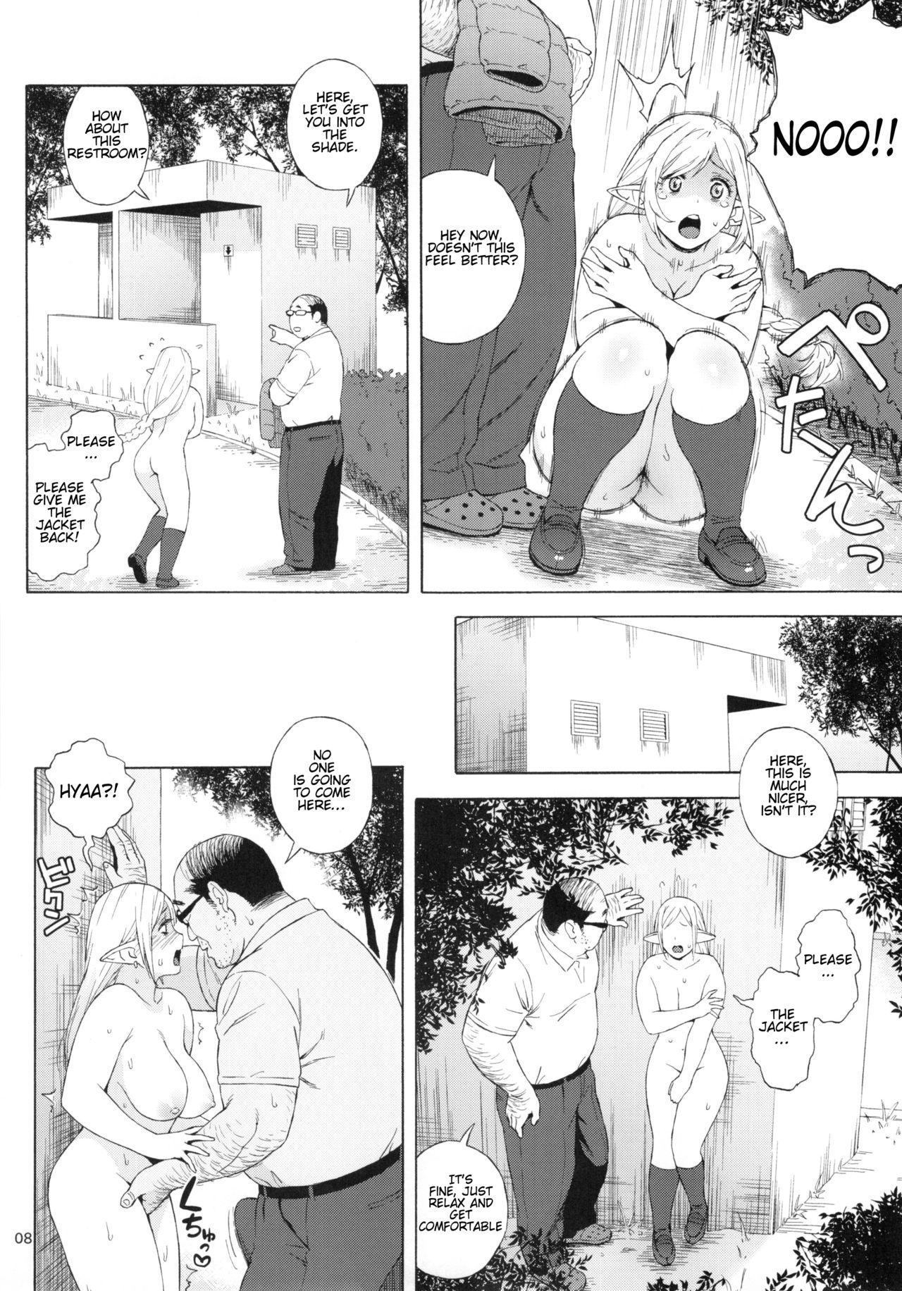 (C92) [666PROTECT (Jingrock)] Tenkousei JK Elf 3 -Houkago Yagai Jugyou- | High School Elven Transfer Student -After School Outdoor Lessons- [English] [Tremalkinger] 7