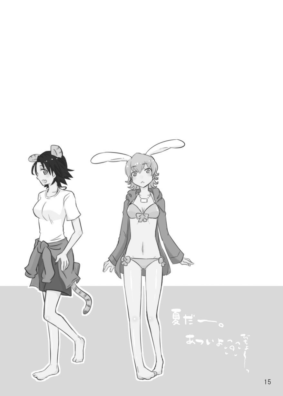 タイバニ虎兎女体化本 14