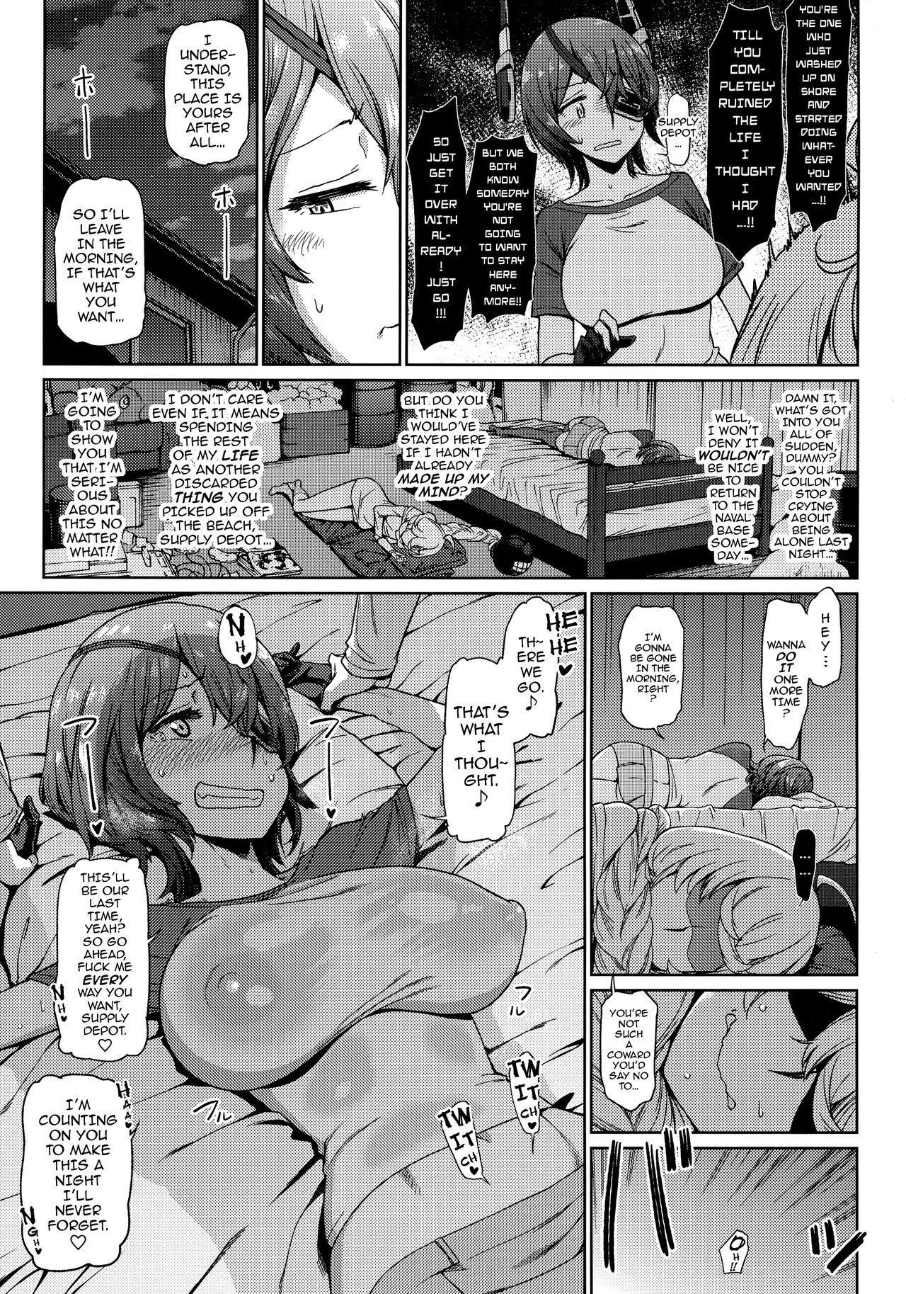 (C92) [dam labo (dam)] Tenryuu (Ore) wa Shuusekichi (Omae) no Nan nano sa!!   I Told You Supply Depot, This Tenryuu Belongs to You!! (Kantai Collection -KanColle-) [English] {darknight} 35