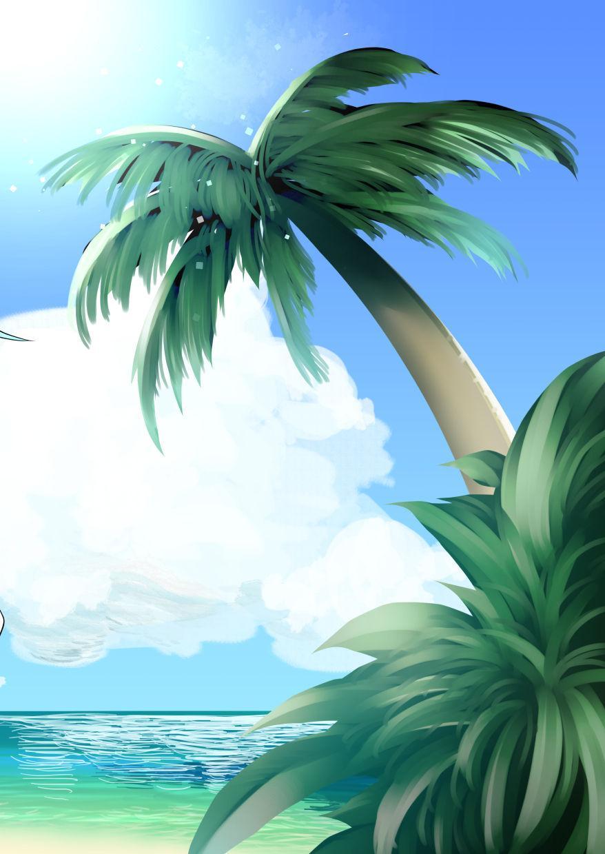 Natalia to Private Beach de H suru Hon 16