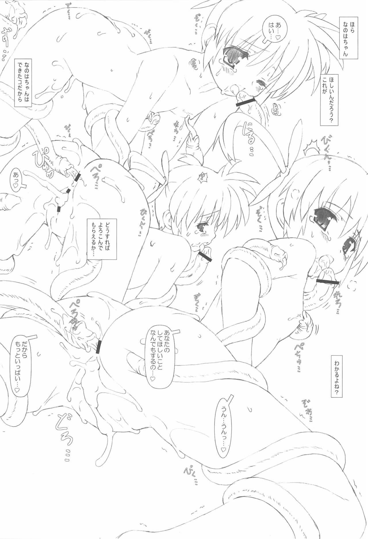 Nanoha-san Shokushu Yuugi 14