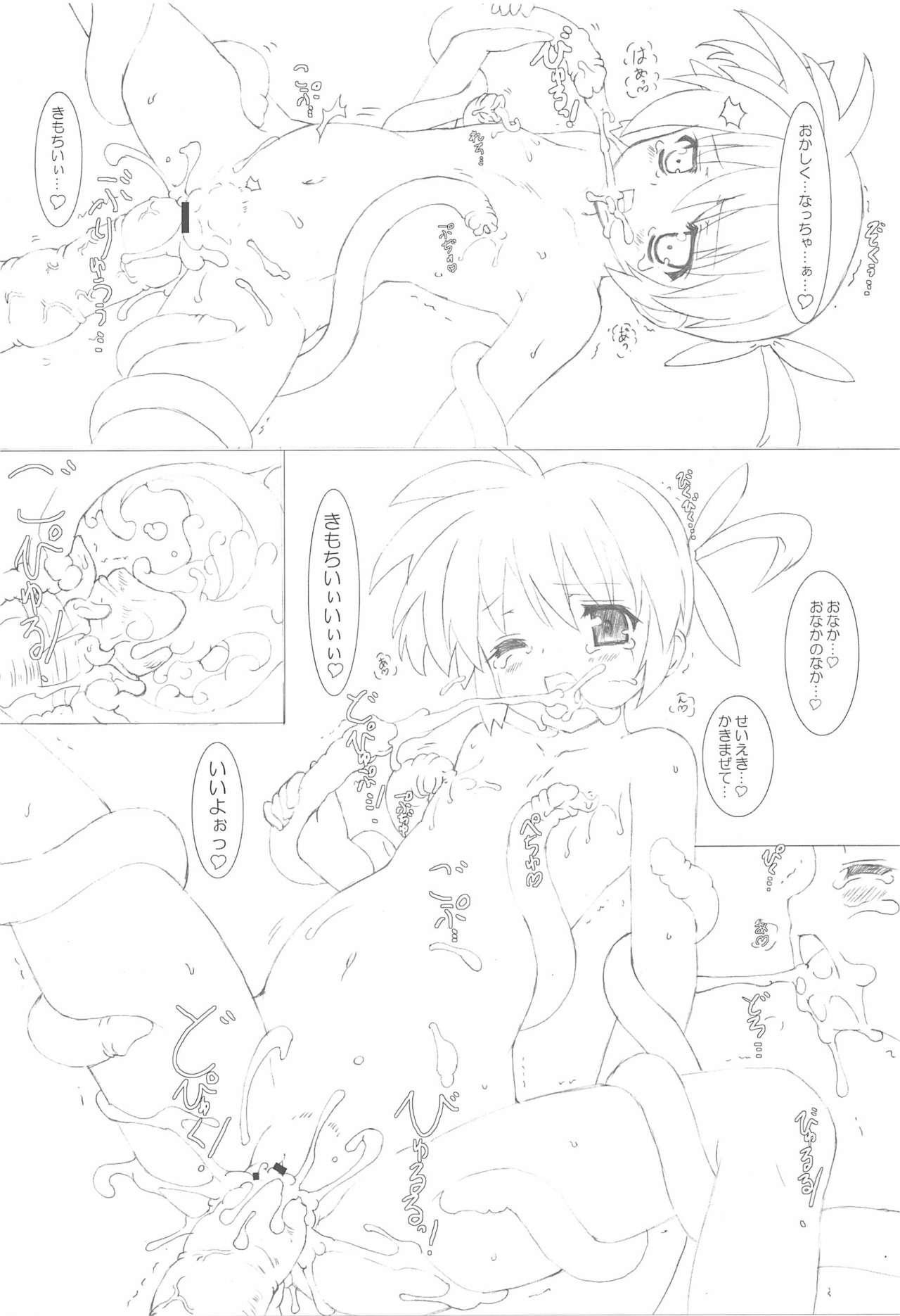 Nanoha-san Shokushu Yuugi 17