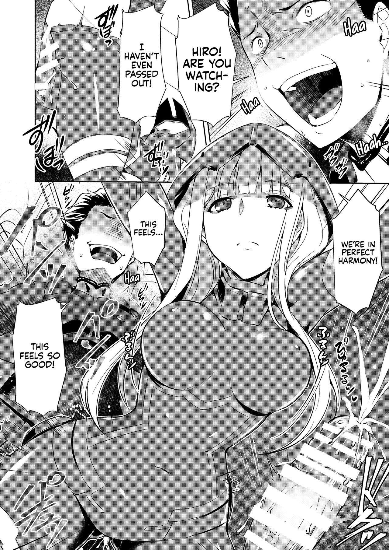 Mitsuru in the Zero Two 9