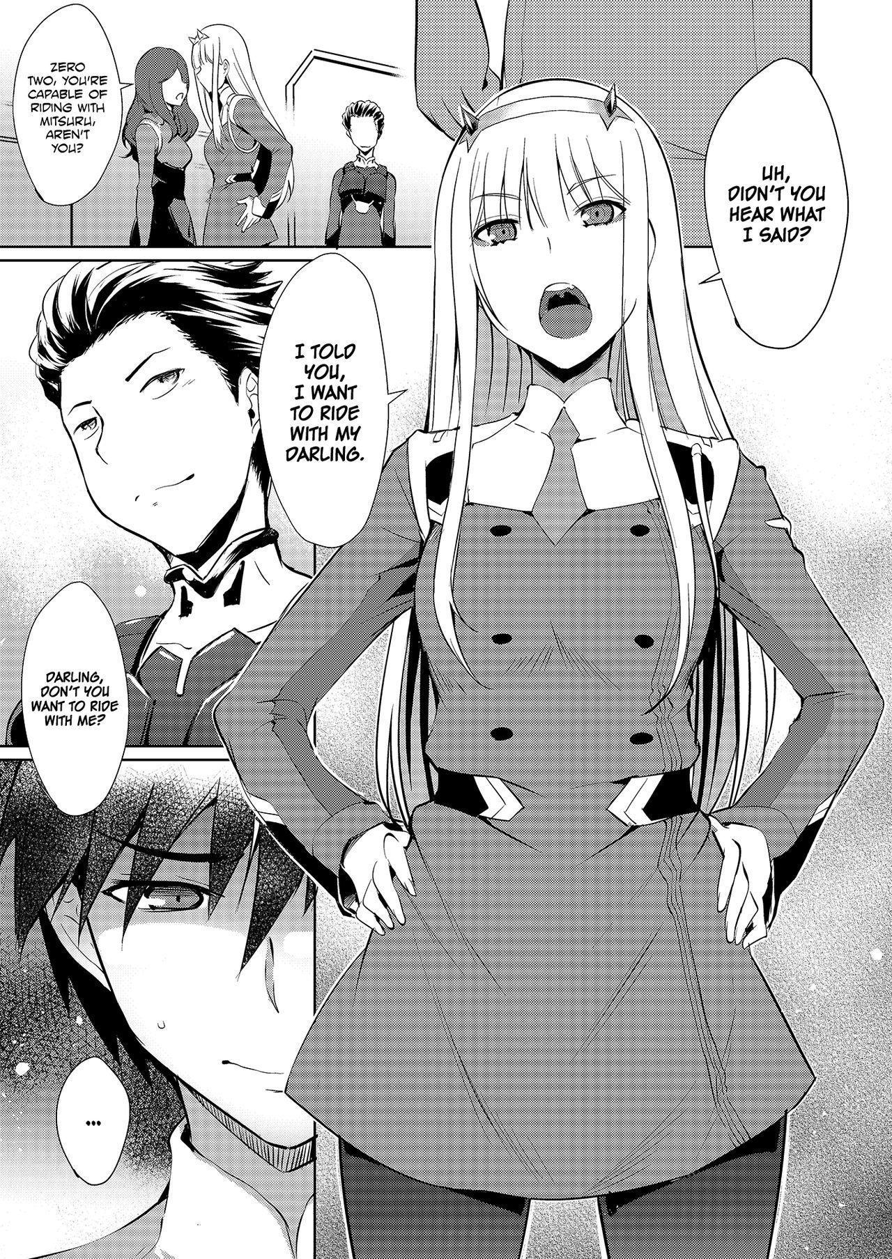 Mitsuru in the Zero Two 4