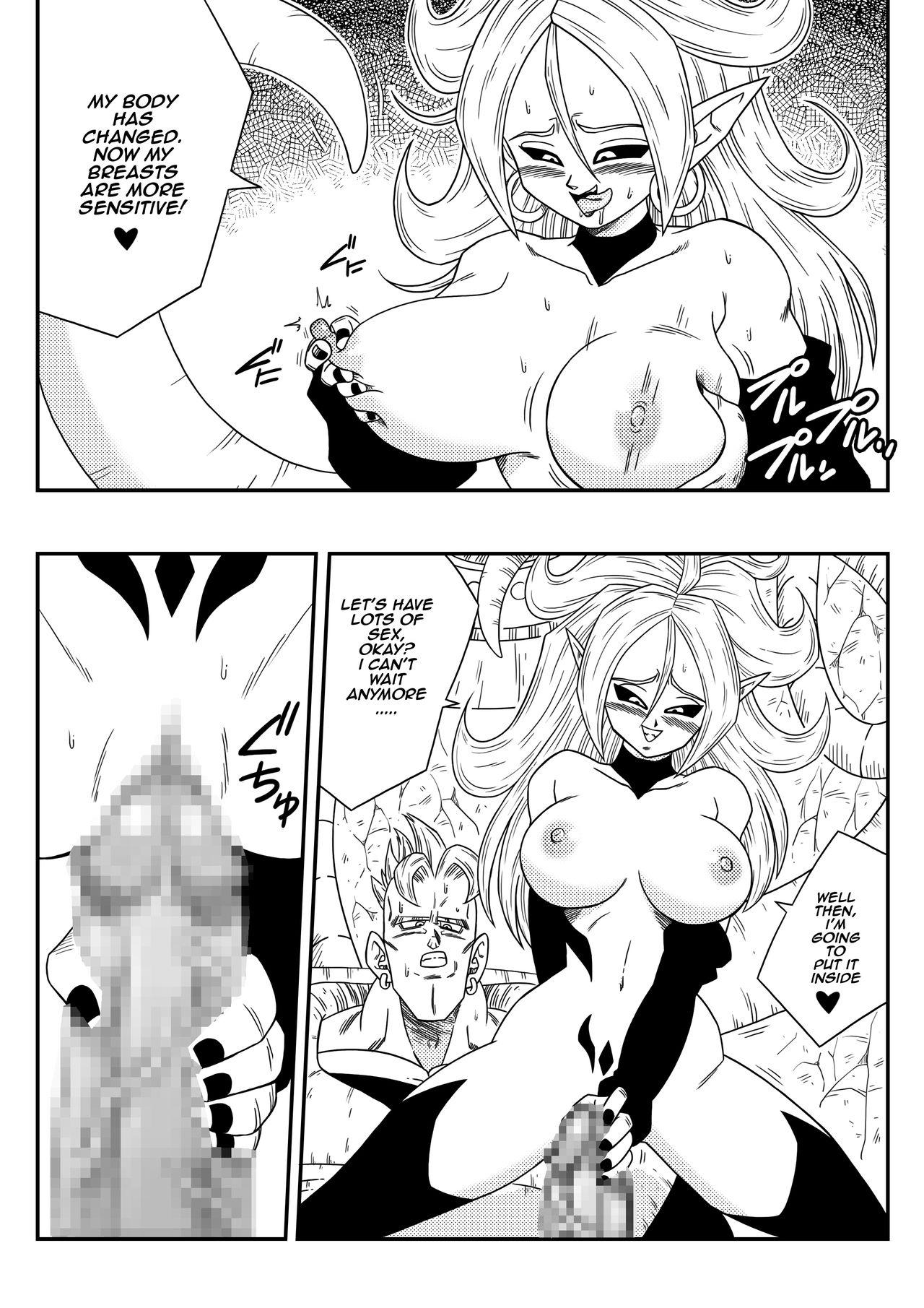 Kyonyuu Android Sekai Seiha o Netsubou!! Android 21 Shutsugen!!   Busty Android Wants to Dominate the World! 10