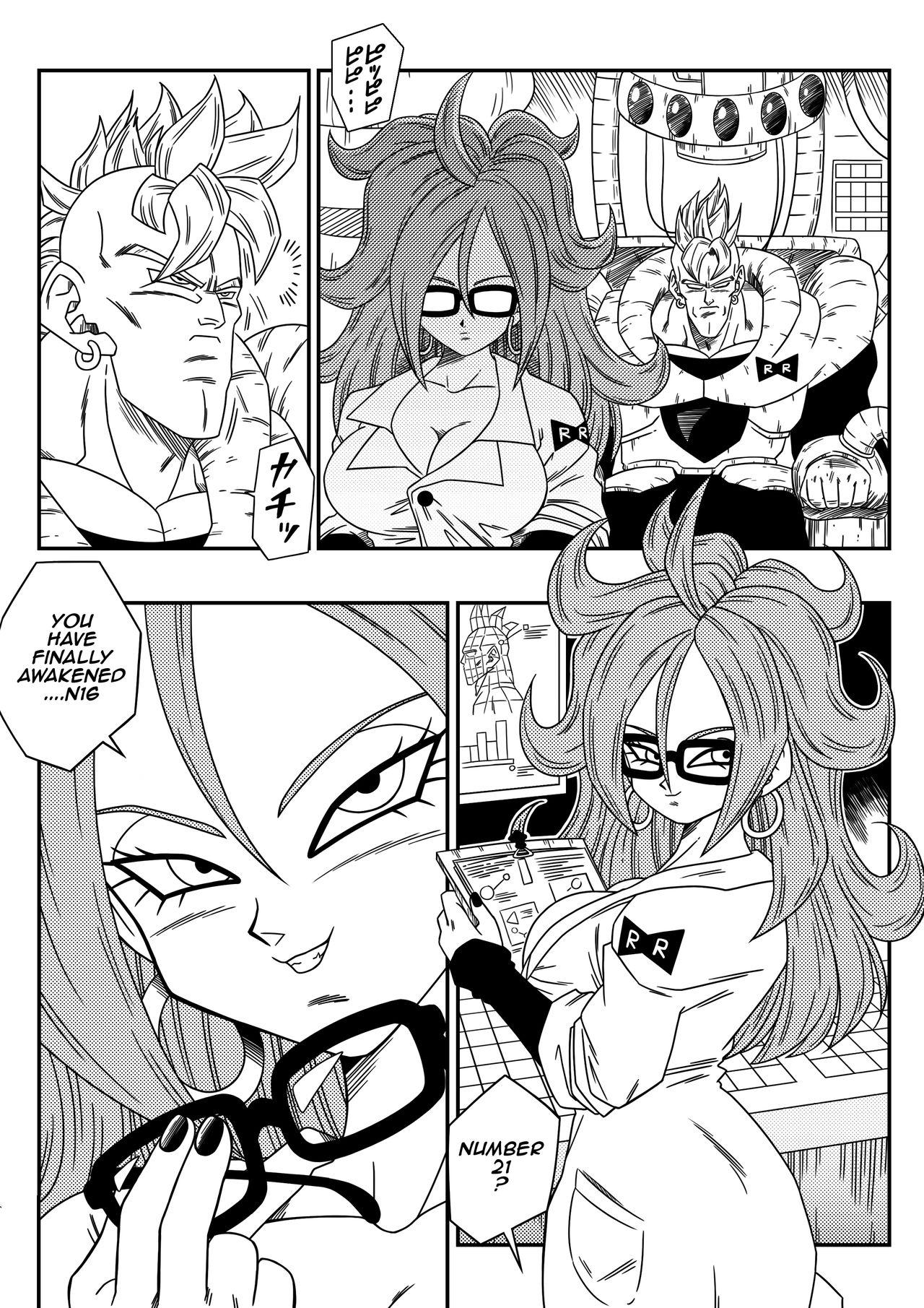 Kyonyuu Android Sekai Seiha o Netsubou!! Android 21 Shutsugen!!   Busty Android Wants to Dominate the World! 3