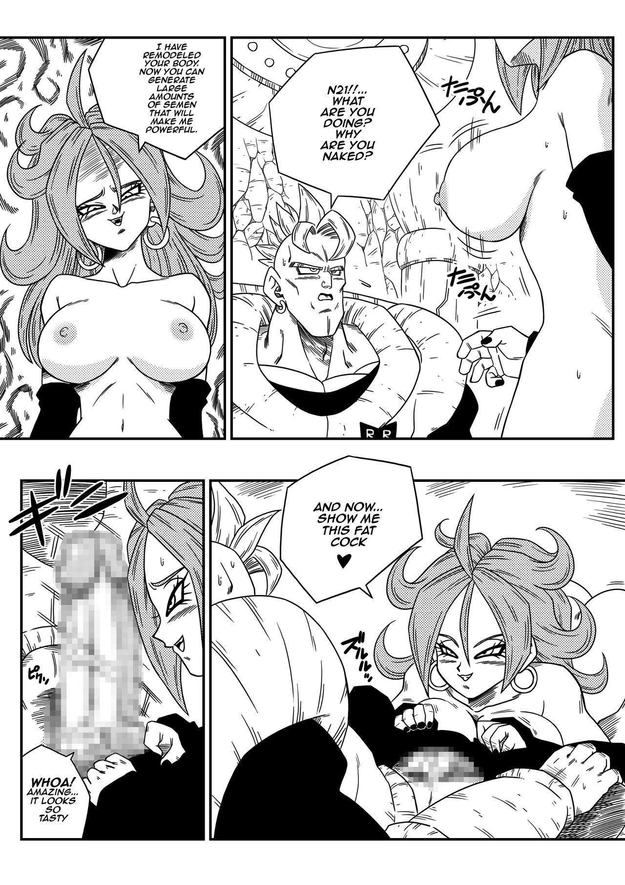 Kyonyuu Android Sekai Seiha o Netsubou!! Android 21 Shutsugen!!   Busty Android Wants to Dominate the World! 5