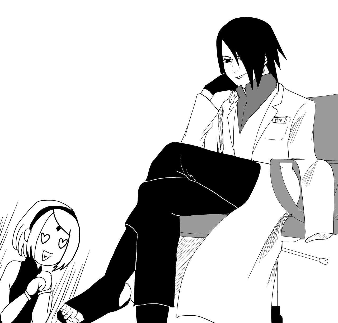 Sasuke and Mommy-Sakura 6
