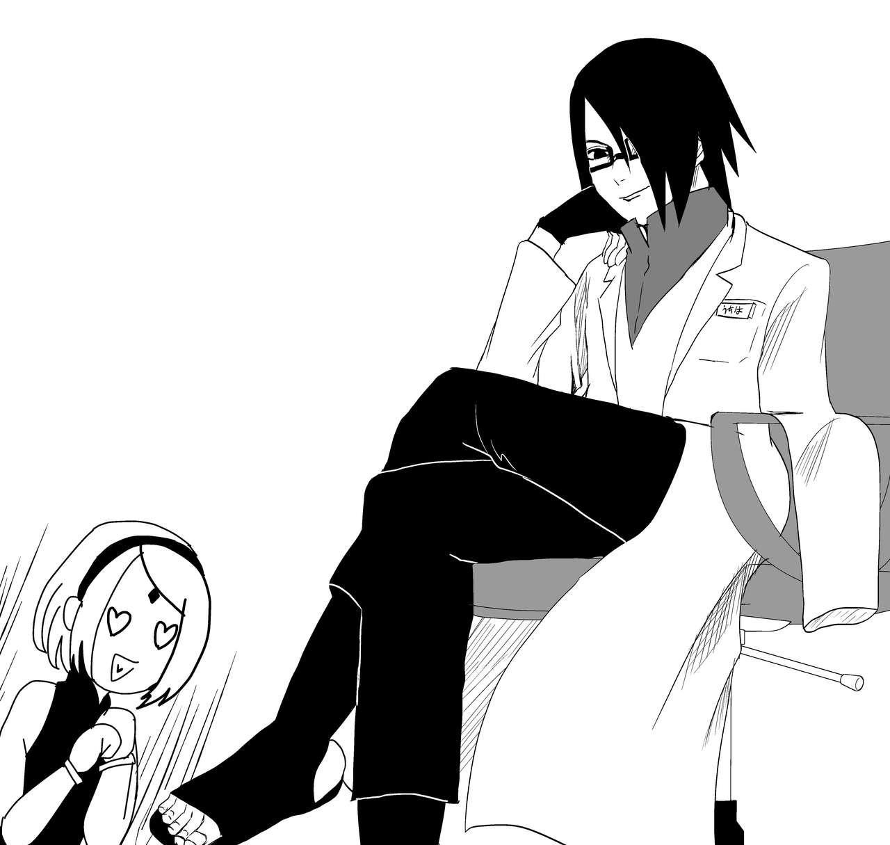 Sasuke and Mommy-Sakura 7