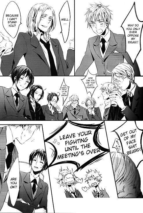 [★ (Komugiko)] Itoshii Hito wa Madoromi no Naka ni (Axis Powers Hetalia) {English] [Incomplete] 0