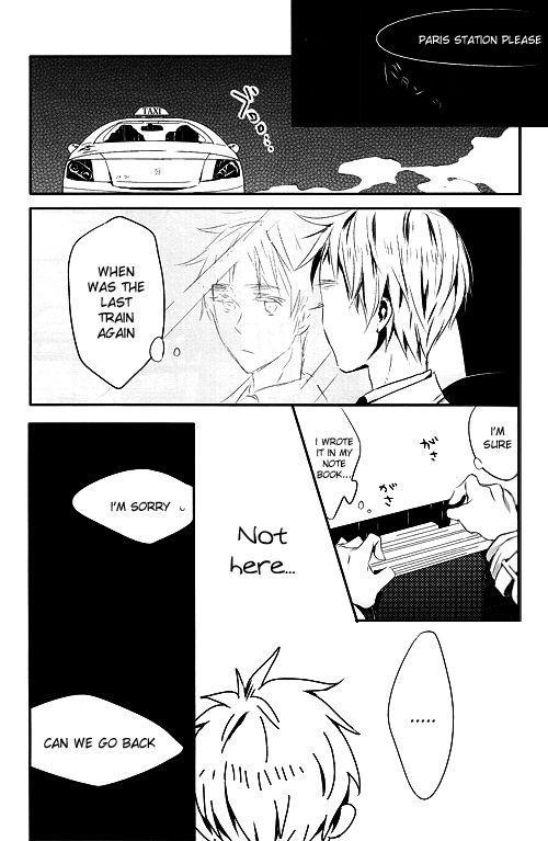 [★ (Komugiko)] Itoshii Hito wa Madoromi no Naka ni (Axis Powers Hetalia) {English] [Incomplete] 13