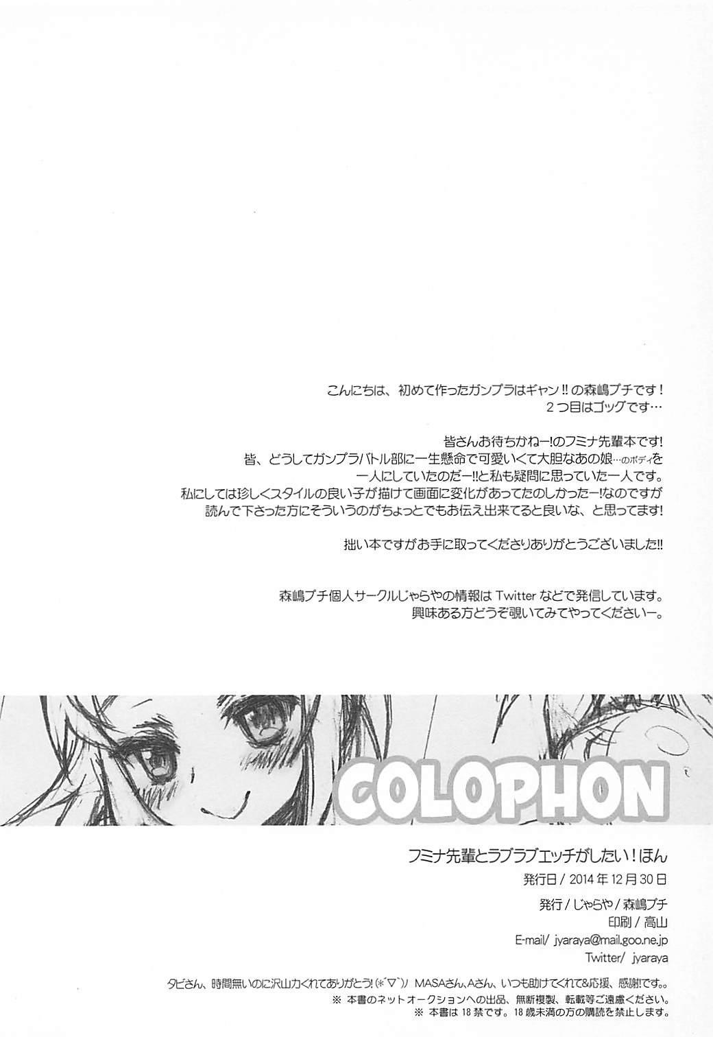 Fumina Senpai to Love Love Ecchi ga Shitai! Hon 12