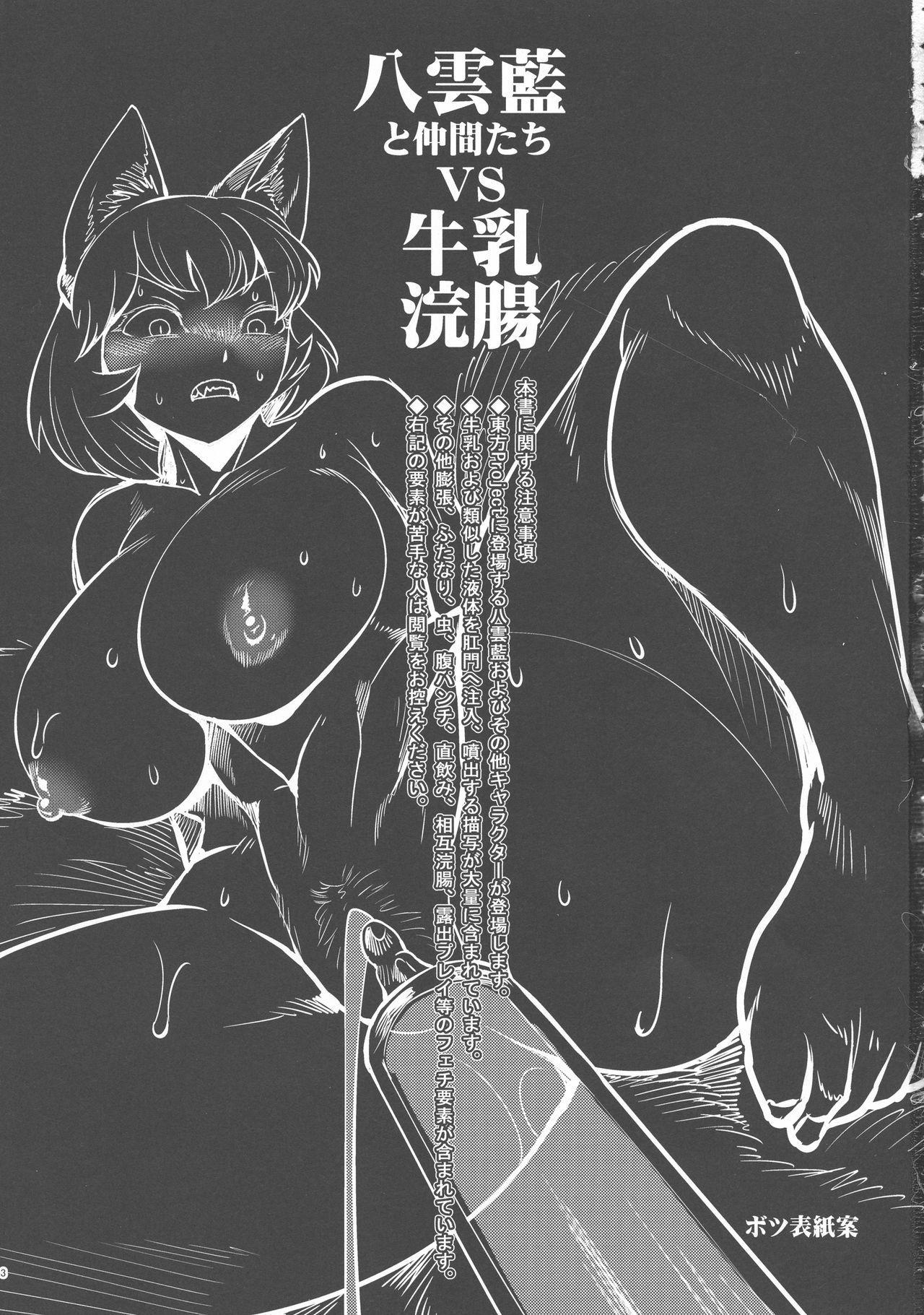 Yakumo Ran to Nakama-tachi vs Gyuunyuu Kanchou 2