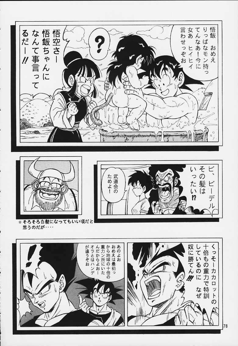 DRAGONBALL H Maki Ichi Ni Saihan 76