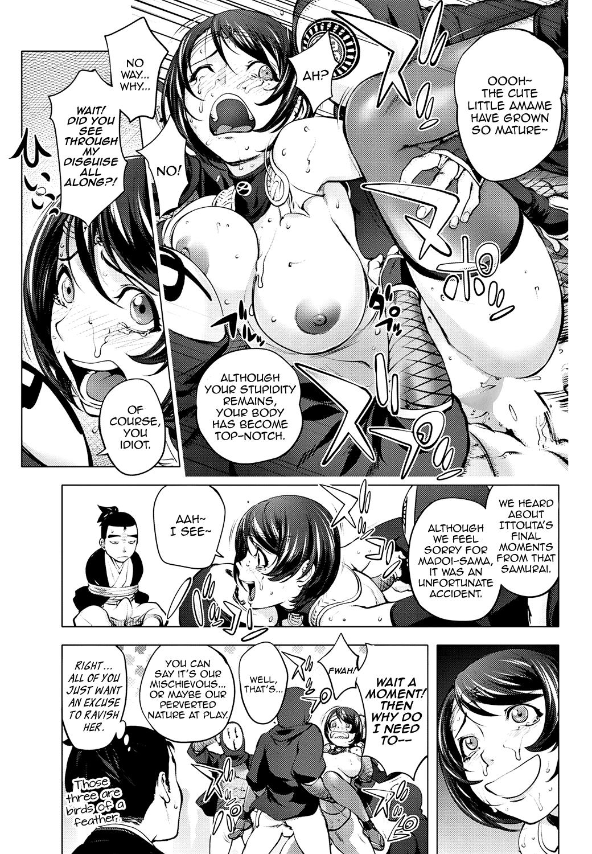 [Kon-Kit] Torokeru Kunoichi ~Adauchi Hen~ The Bewitched Kunoichi ~Retaliation Incident~ (COMIC Penguin Club 2018-05) [English] [Aoitenshi] [Digital] 16