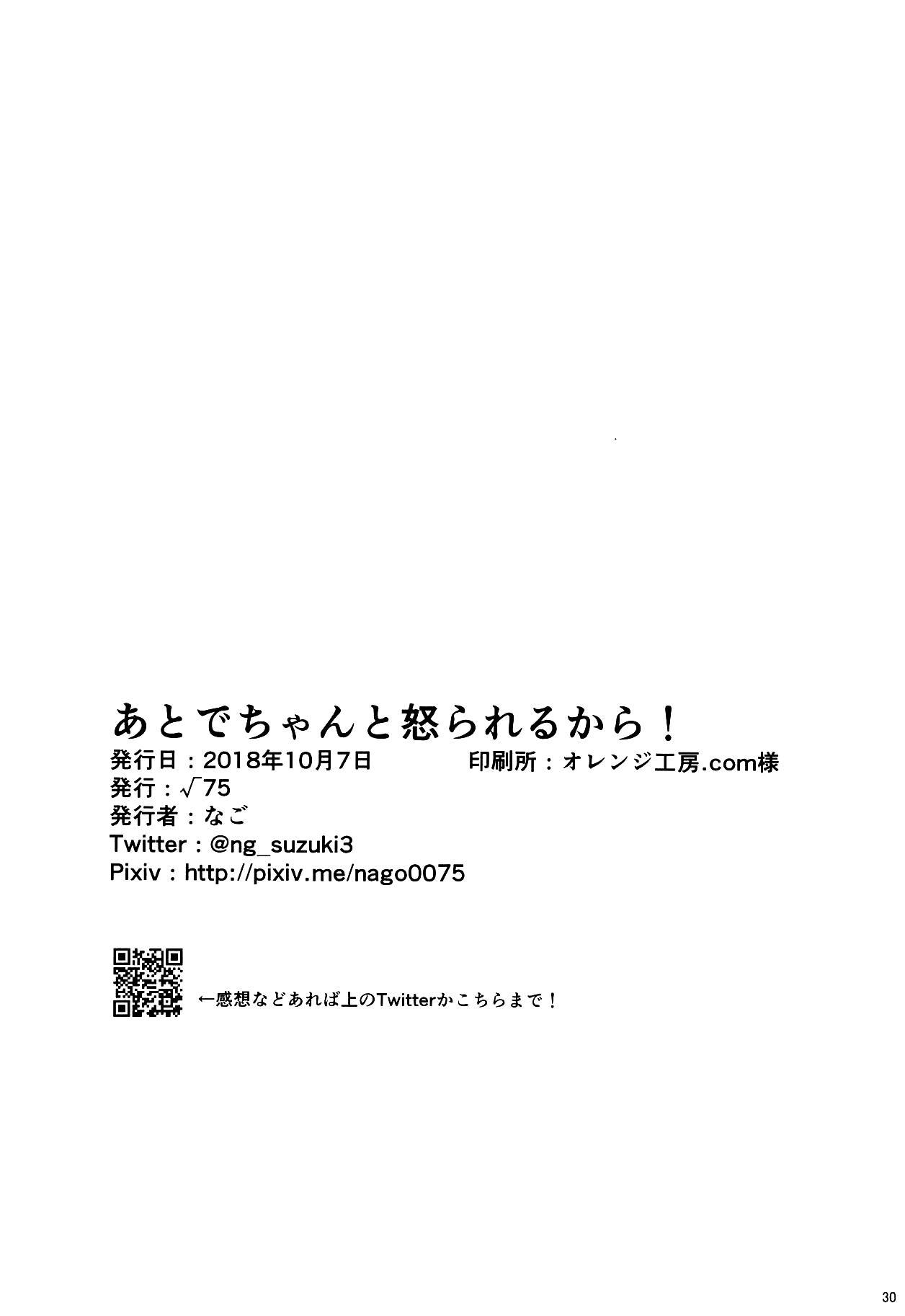 Ato de Okorareru kara! 28