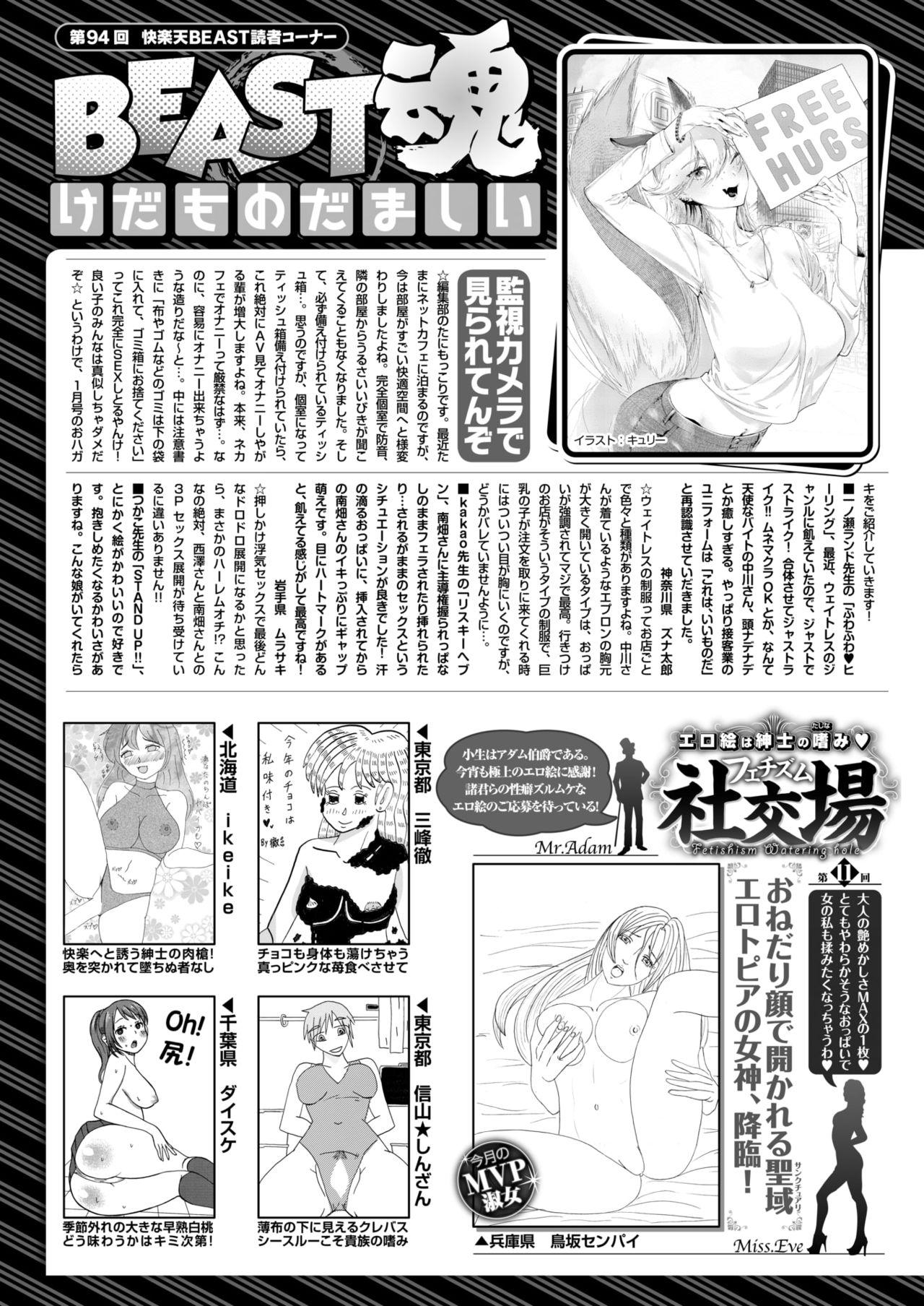 COMIC Kairakuten BEAST 2019-03 286