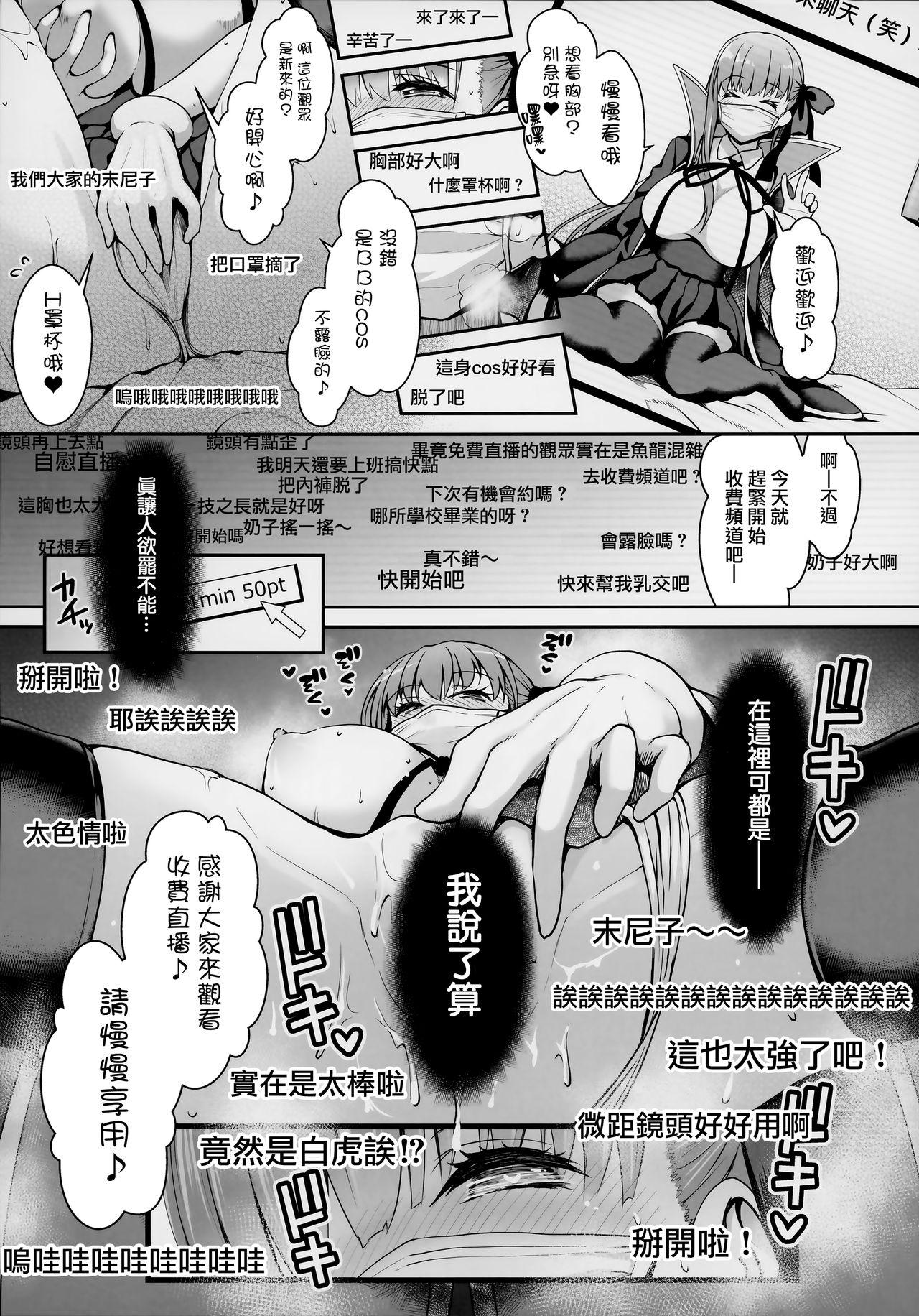 I-Cup Uraaka Shirouto Haishinsha Cosplay Namahame 5
