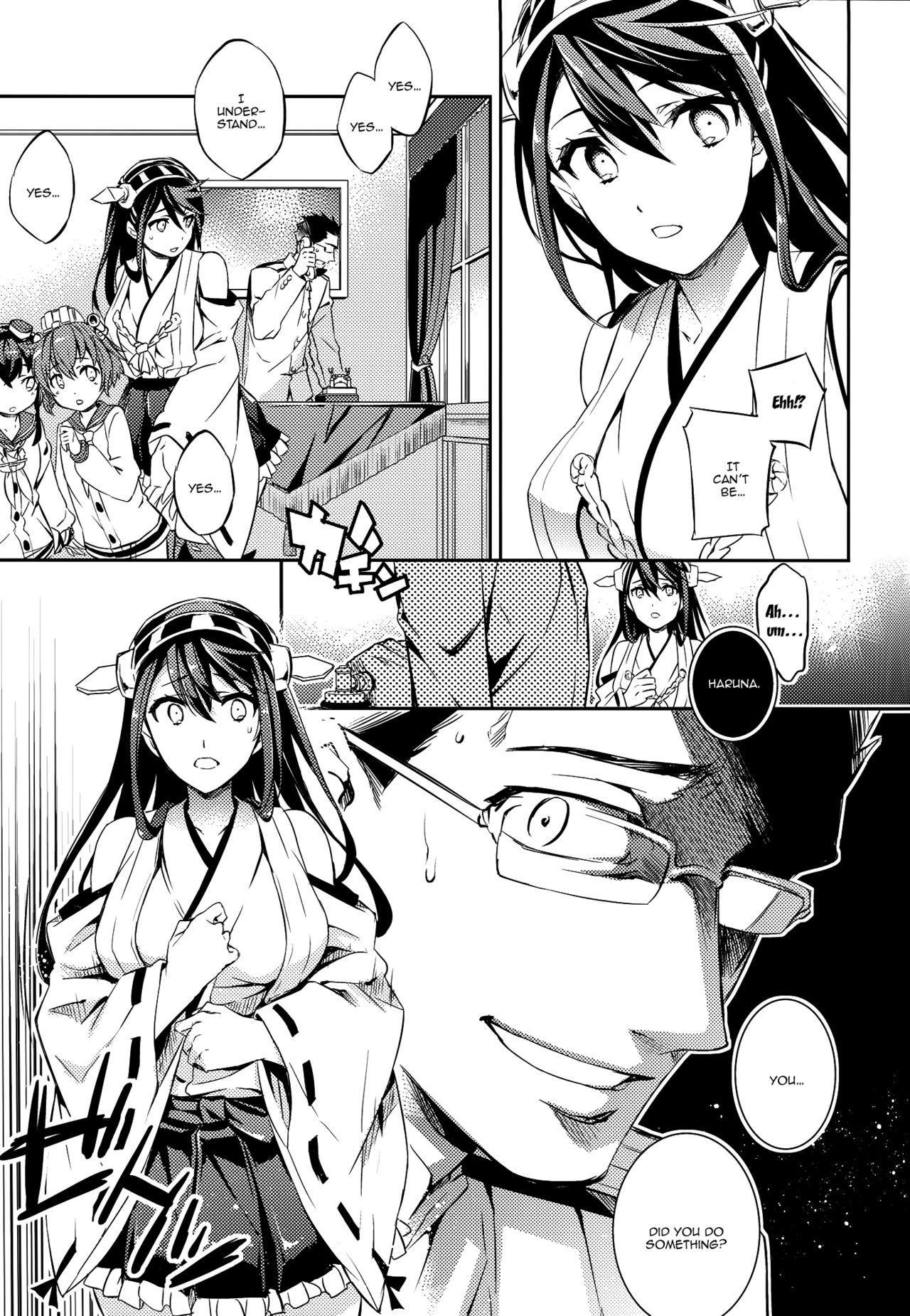 (C89) [Crazy9 (Ichitaka)] C9-22 Haruna wa Daijoubu desu!! | C9-22 Haruna's Fine!! (Kantai Collection -KanColle-) [English] {Doujins.com} 10