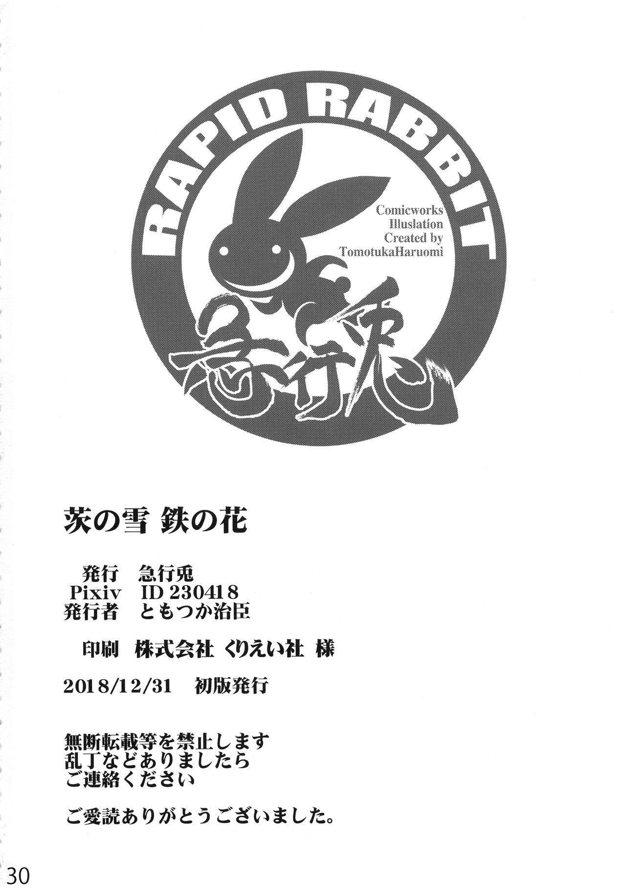 Ibara no Yuki Tetsu no Hana 28